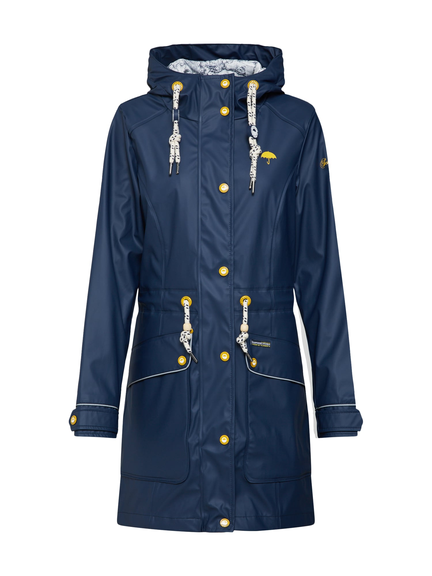 Přechodný kabát marine modrá Schmuddelwedda