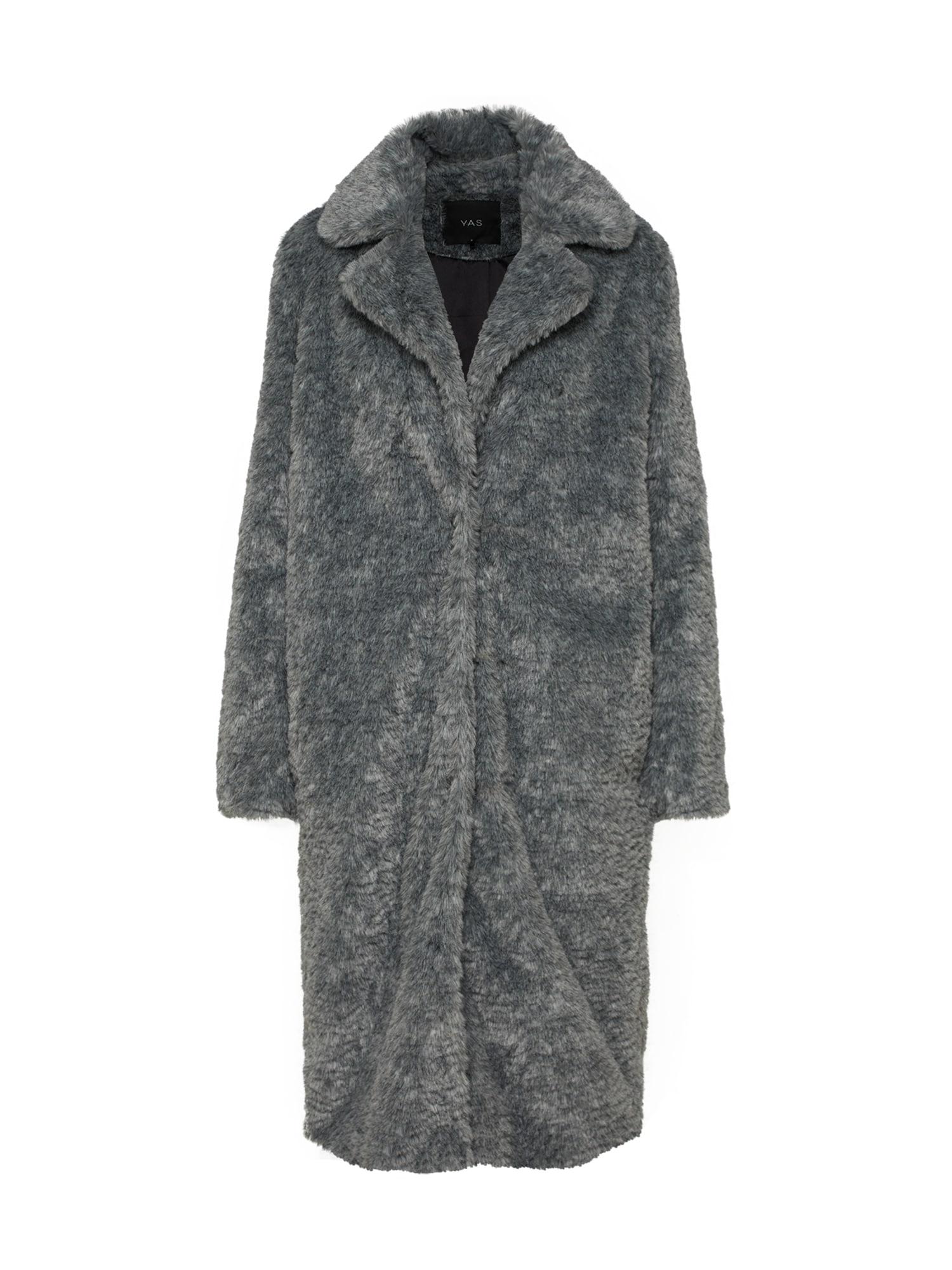 Zimní kabát YASPALA COAT šedá Y.A.S