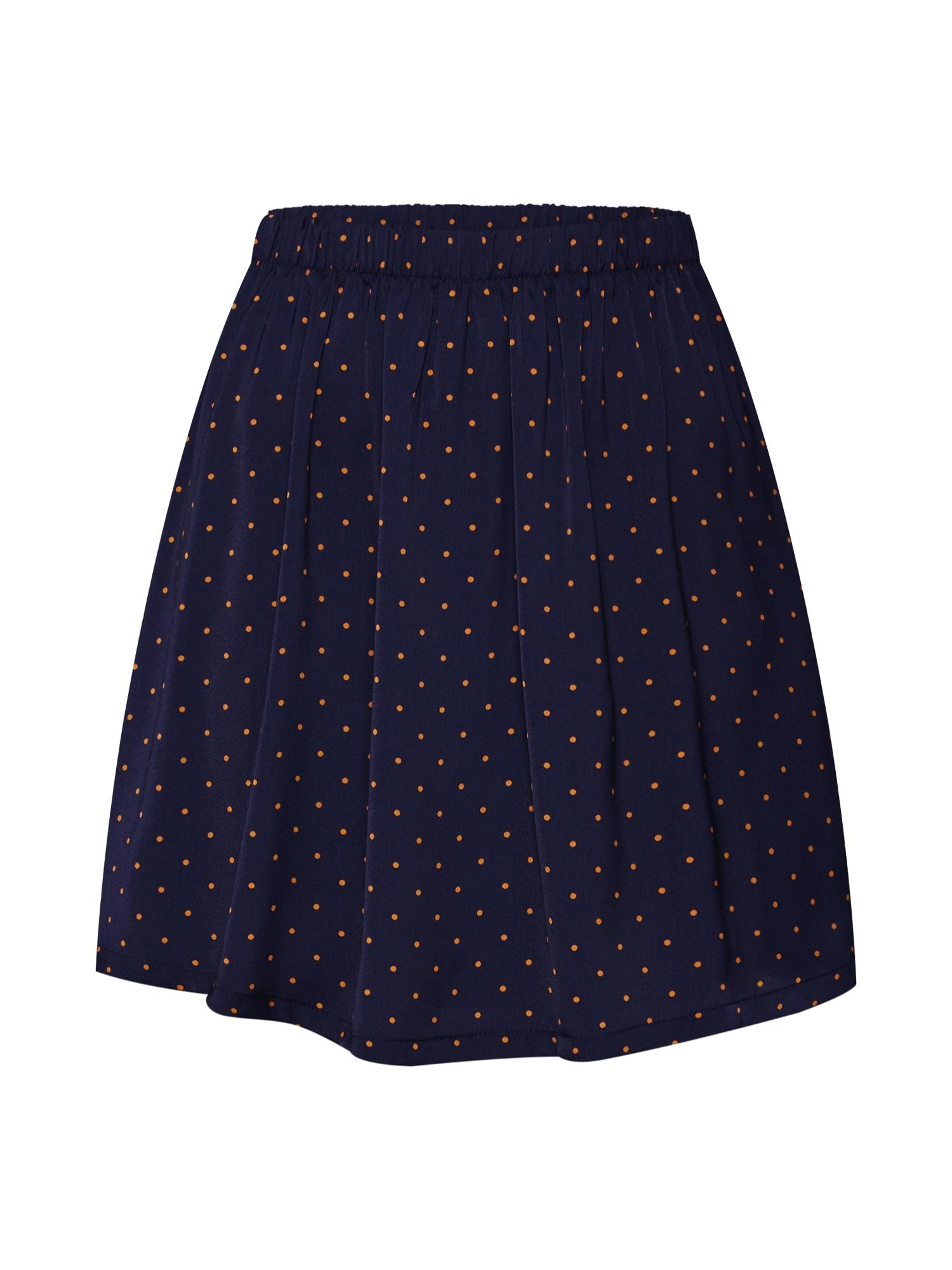 Rock 'Mille polysilk Skirt AOP' | Bekleidung > Röcke > Sonstige Röcke | Blau | moss copenhagen