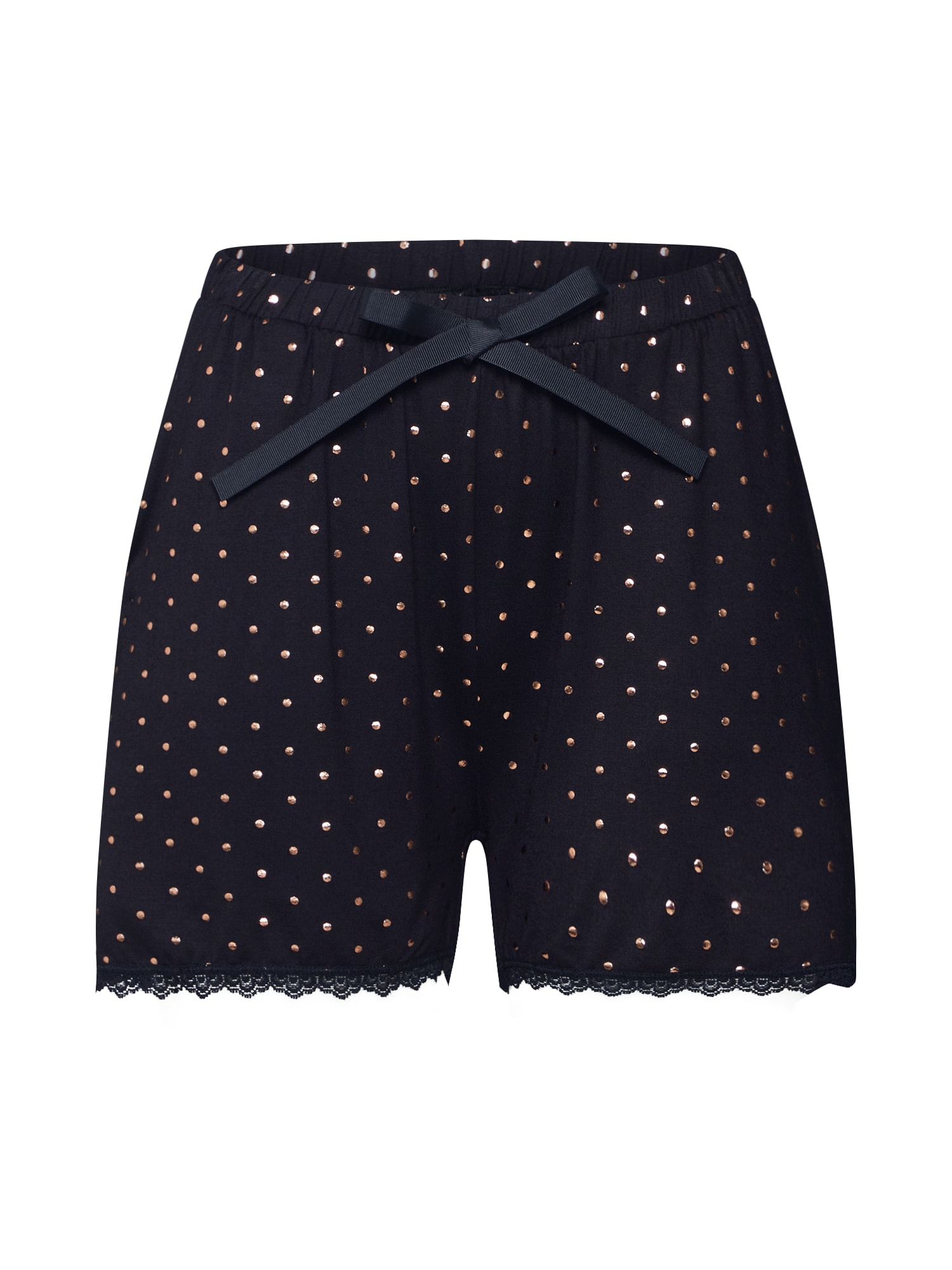 Pyžamové kalhoty VISPOTIA černá VILA