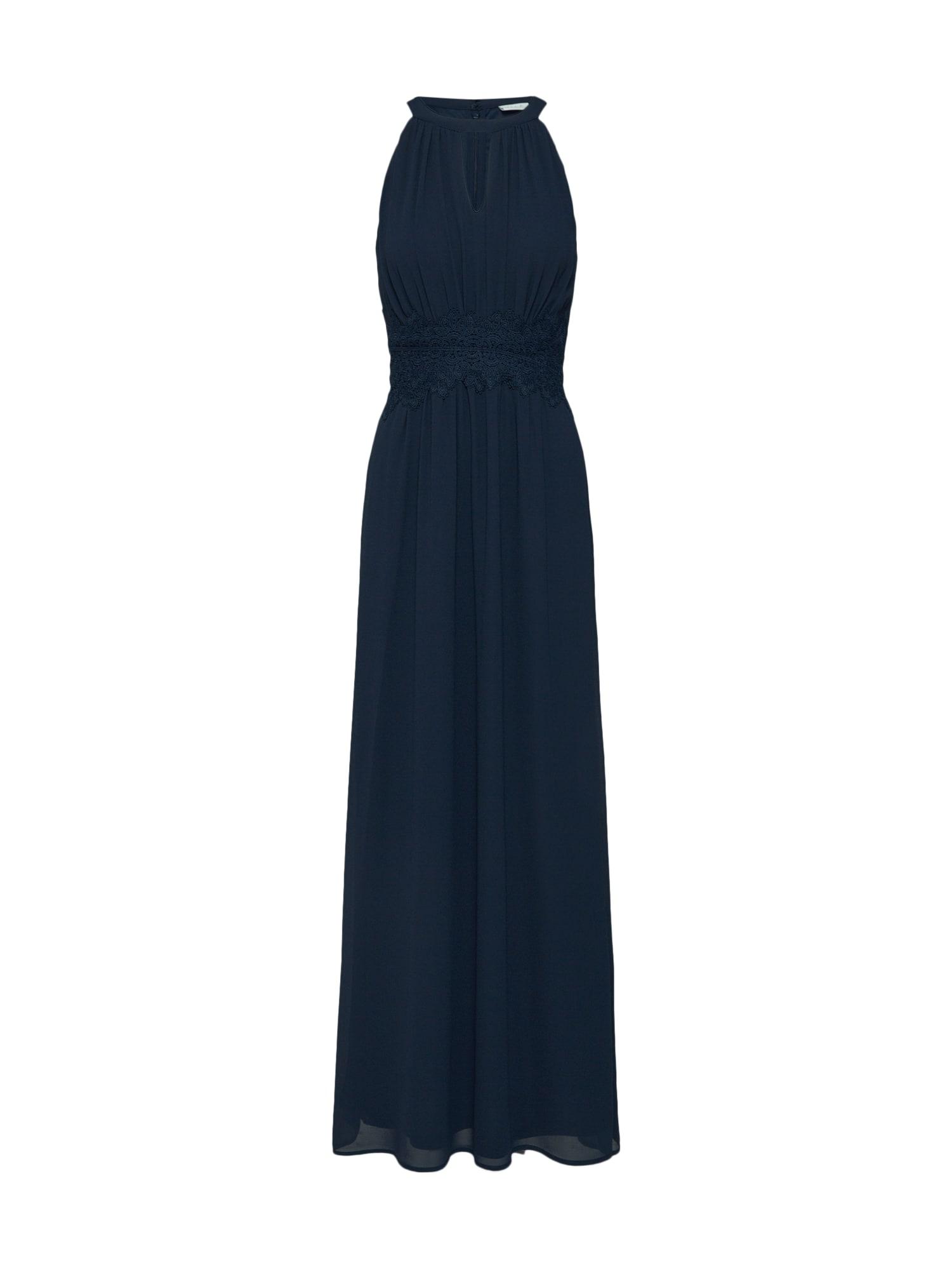 Společenské šaty tmavě modrá VILA