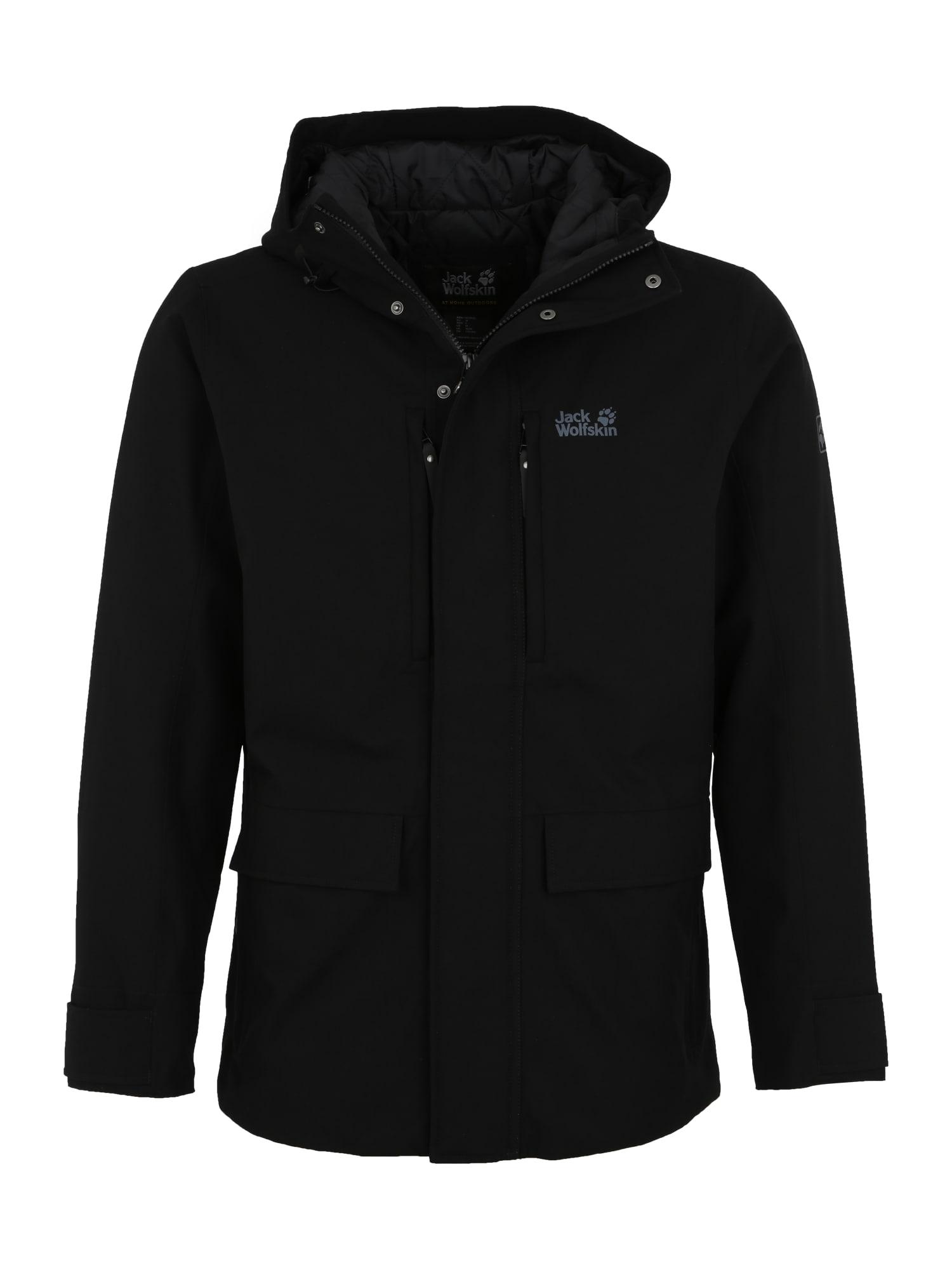 Outdoorová bunda WEST COAST černá JACK WOLFSKIN