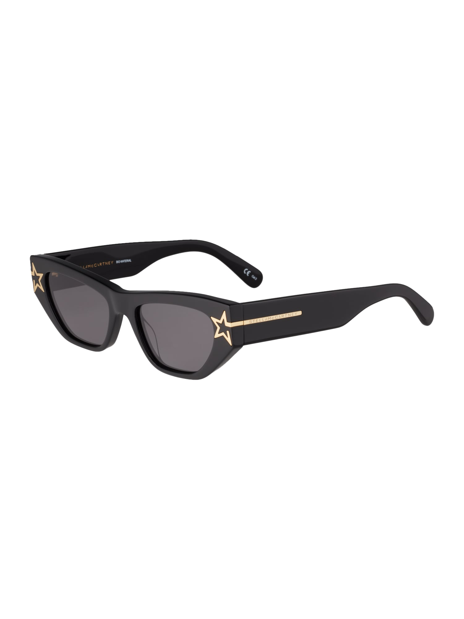 Stella McCartney Slnečné okuliare 'SC0209S-001 51'  zlatá / tmavohnedá