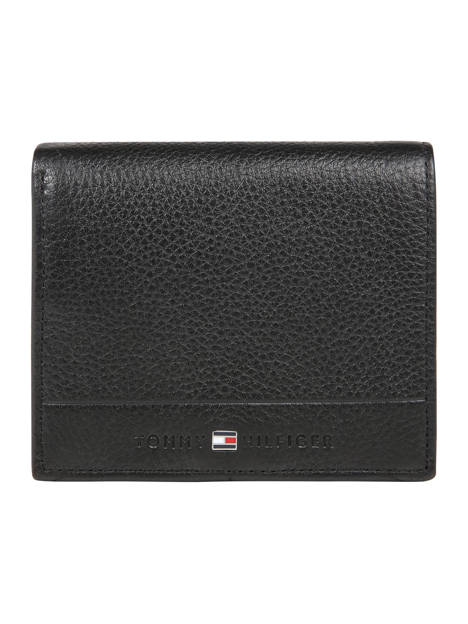 Peněženka CORE TRIFOLD černá TOMMY HILFIGER