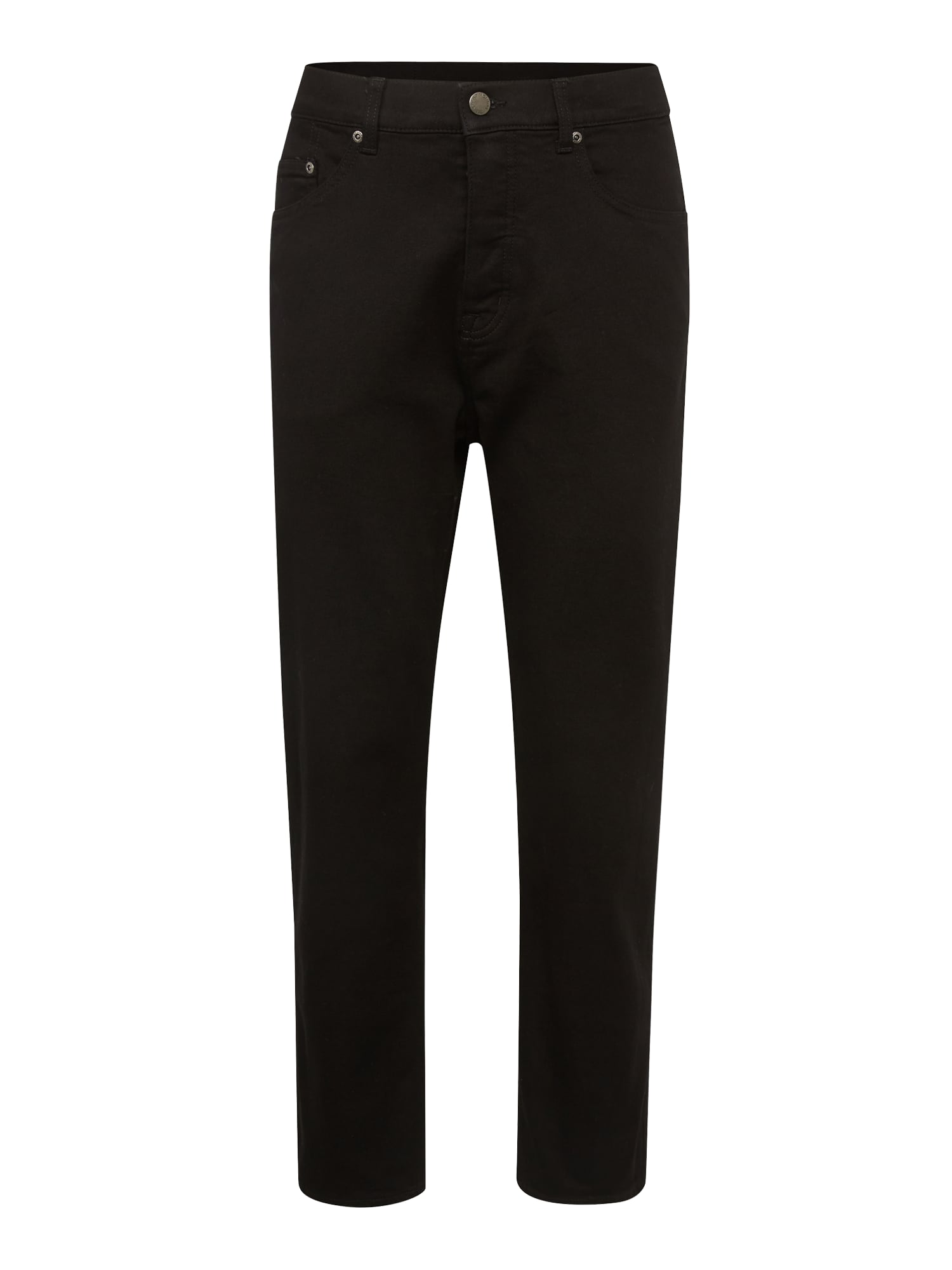 CHEAP MONDAY Heren Jeans In Law black denim