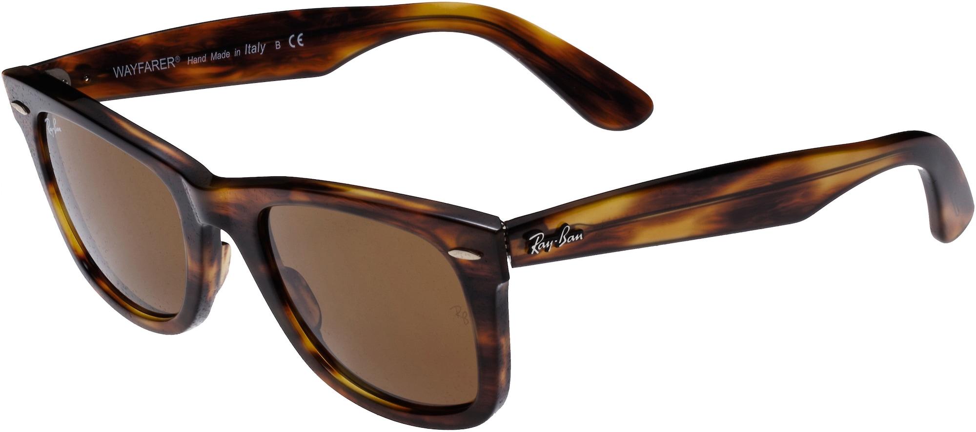 Sluneční brýle Wayfarer hnědá Ray-Ban