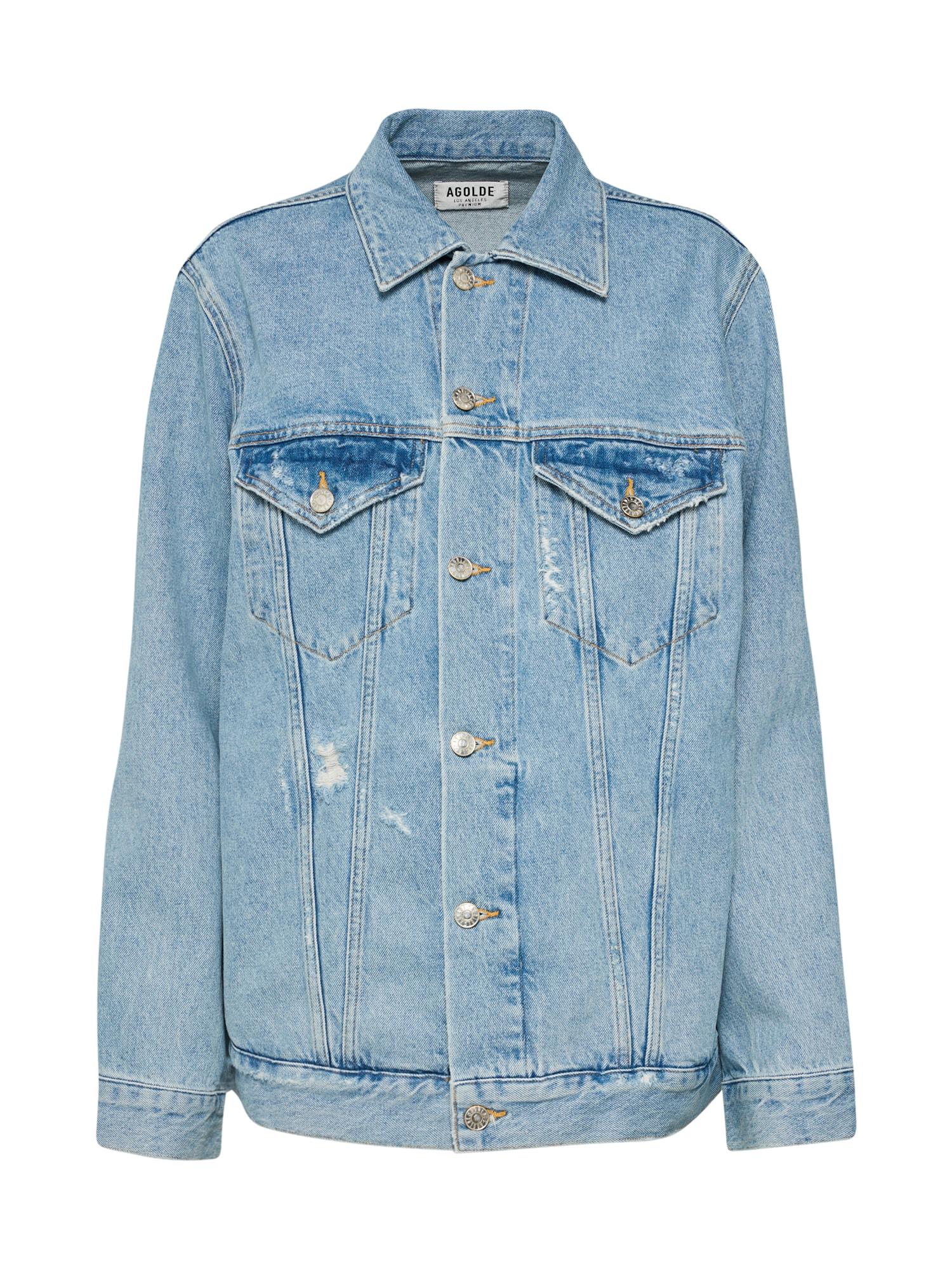 AGOLDE, Dames Tussenjas 'Jessie Oversized 90's', blauw