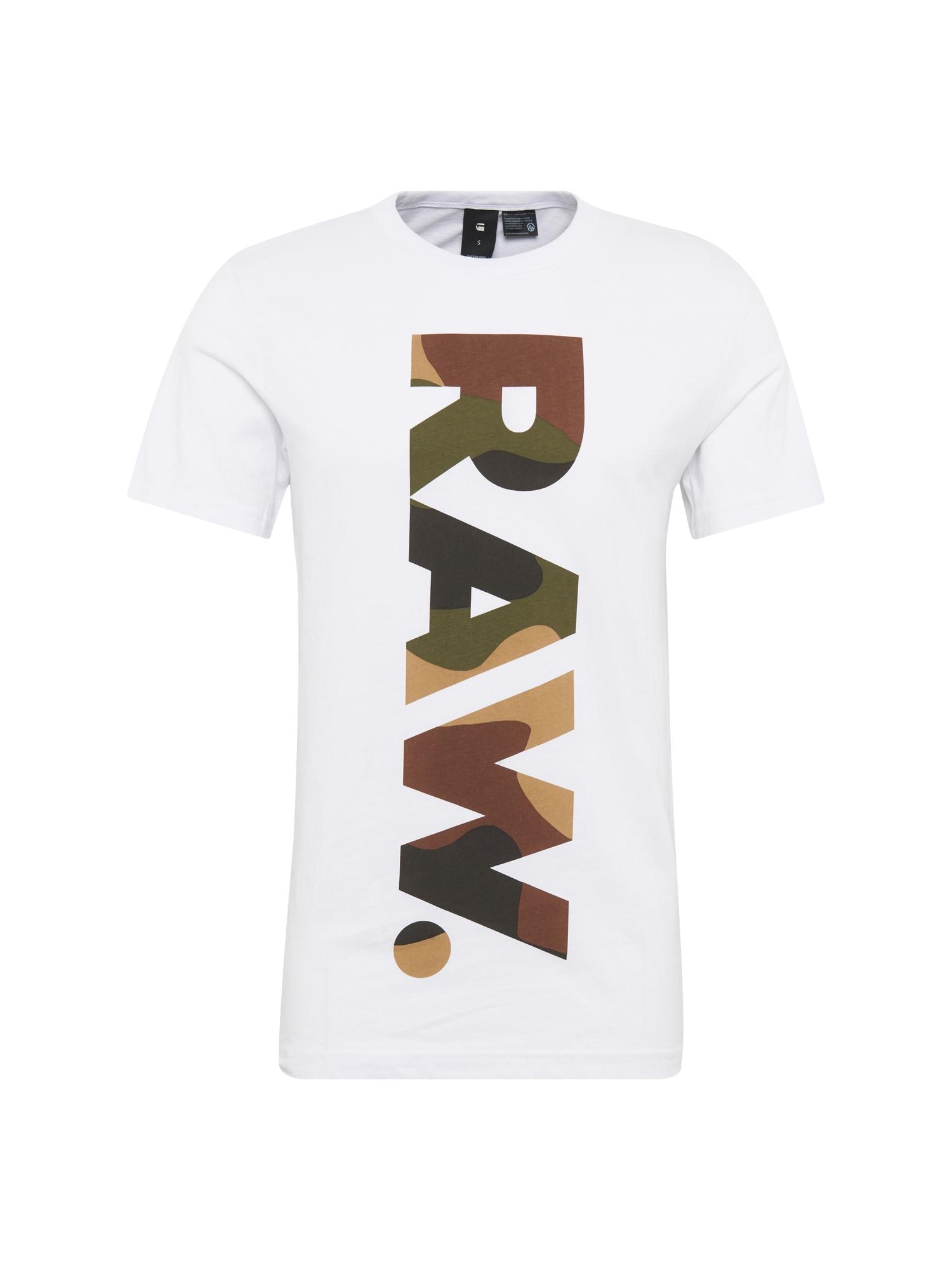G-STAR RAW Heren Shirt Daba regular r t s s wit