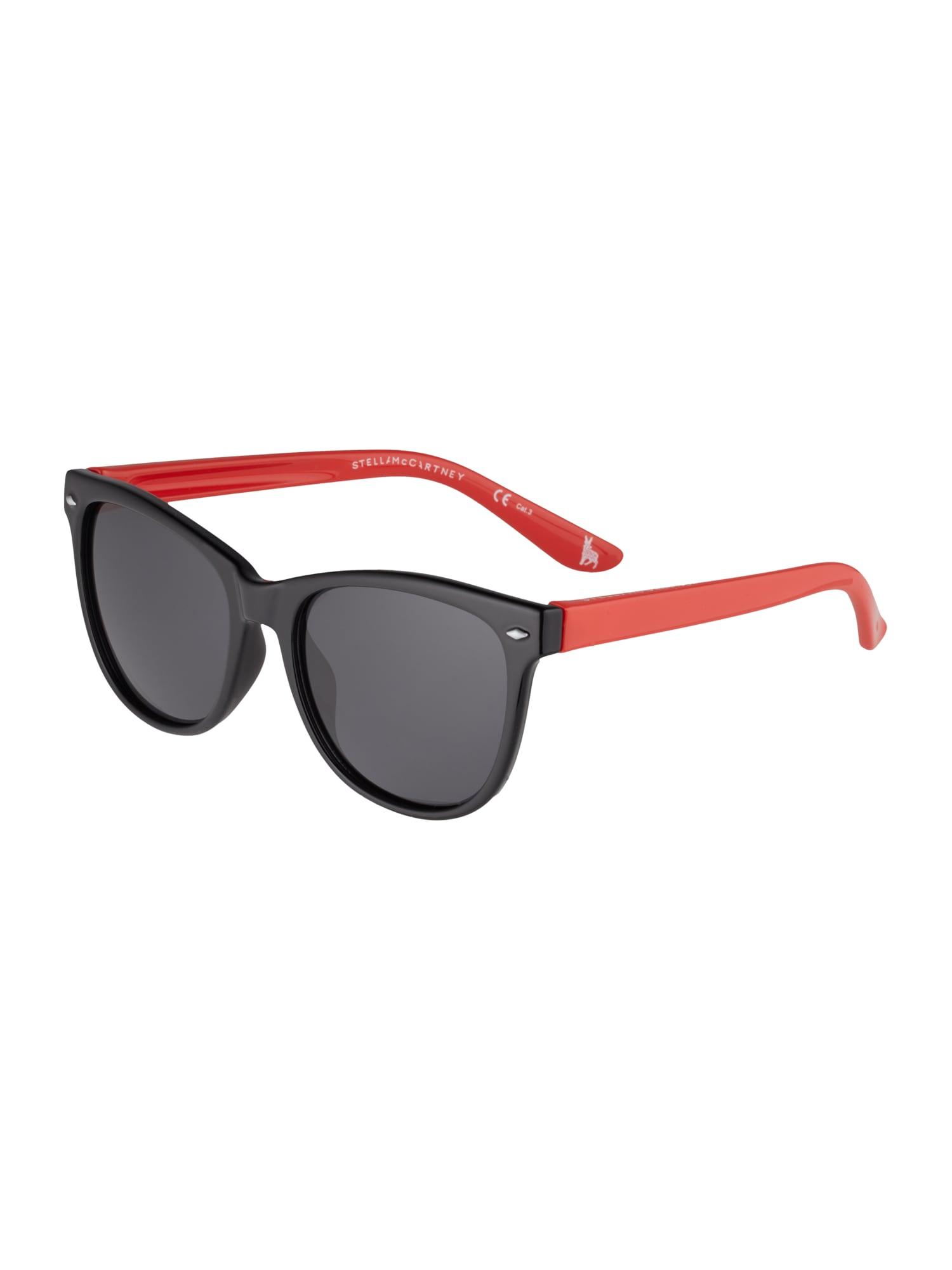 Stella McCartney Slnečné okuliare 'SK0038S-008 48'  dymovo modrá / čierna / červené