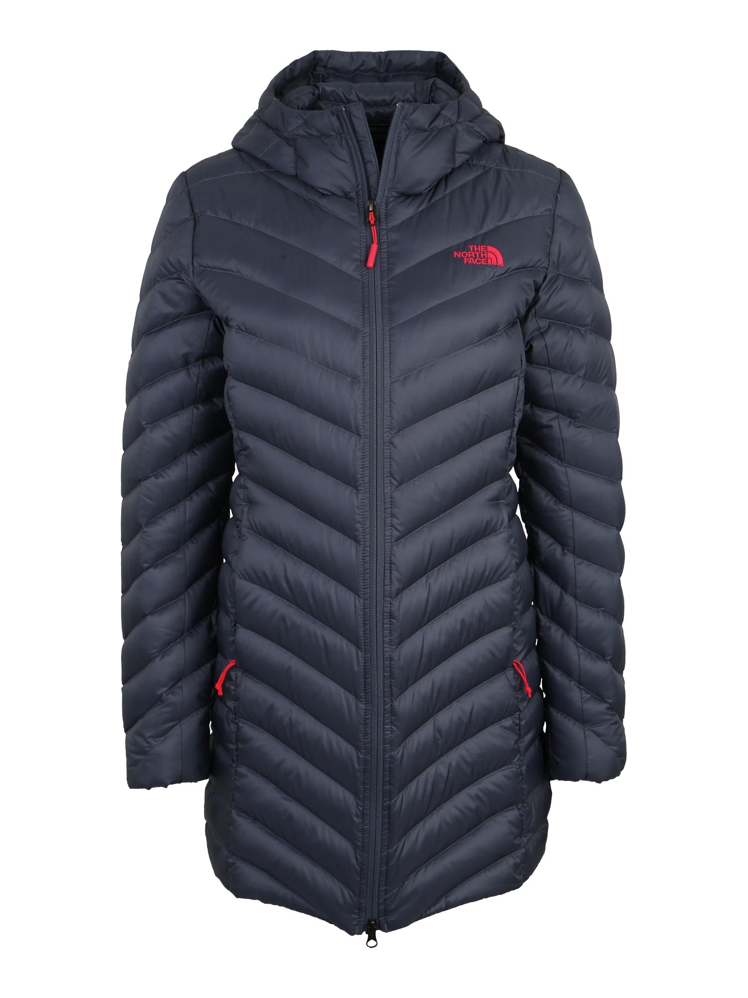 Outdoorový kabát Trevail marine modrá THE NORTH FACE