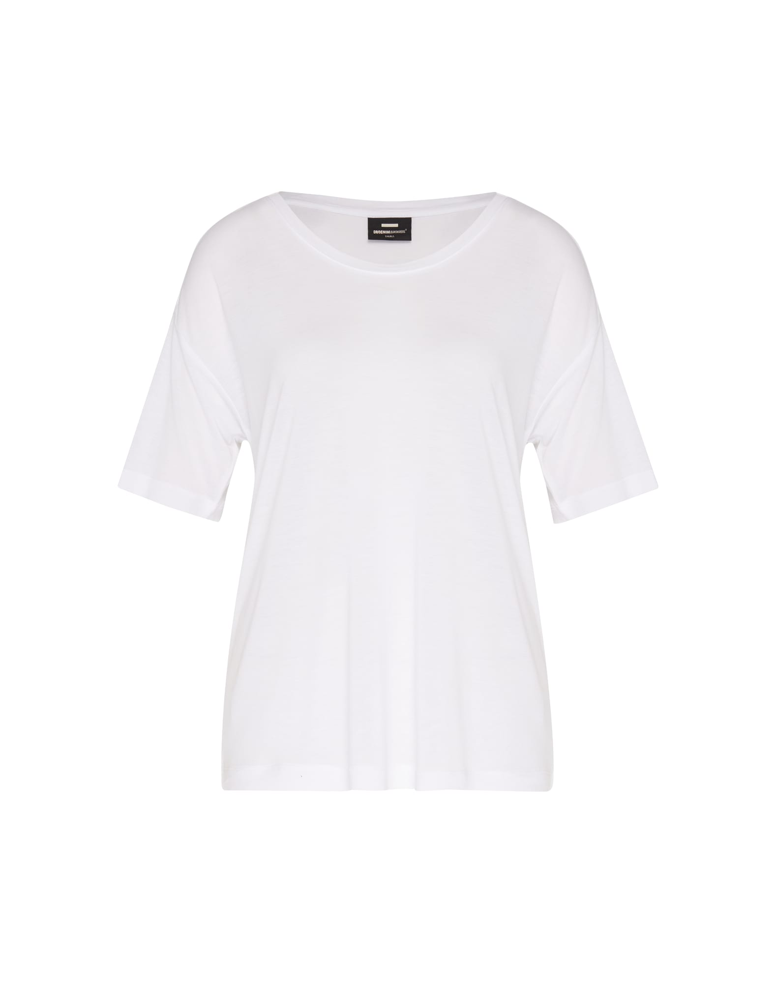 Oversized tričko Jackie bílá Dr. Denim