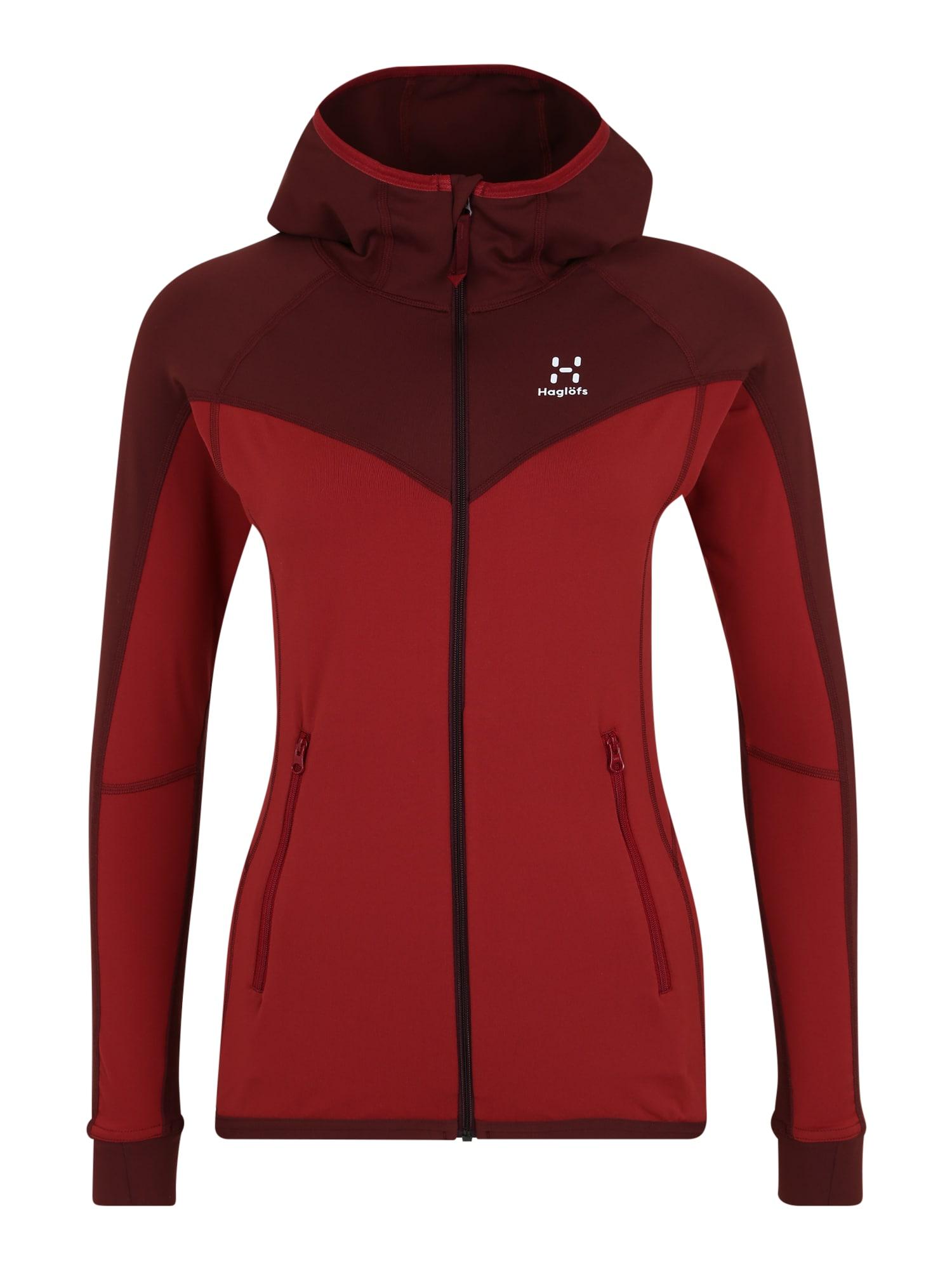 Haglöfs Sportovní bunda 'Lithe'  červená