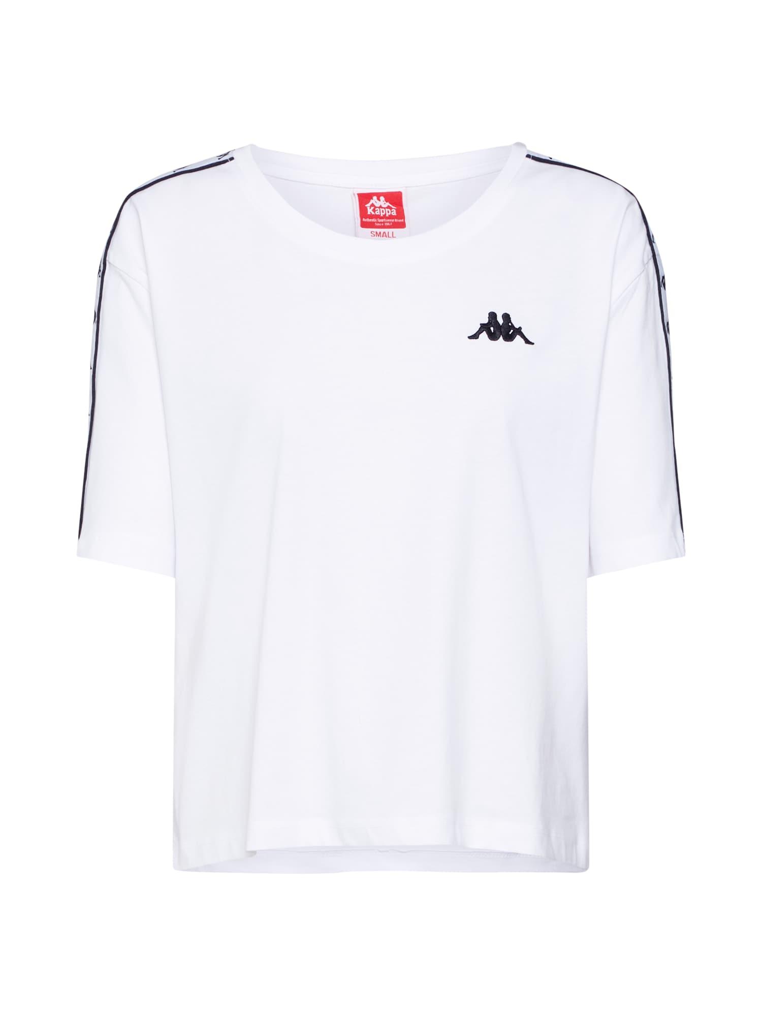 Tričko ELENI černá bílá KAPPA