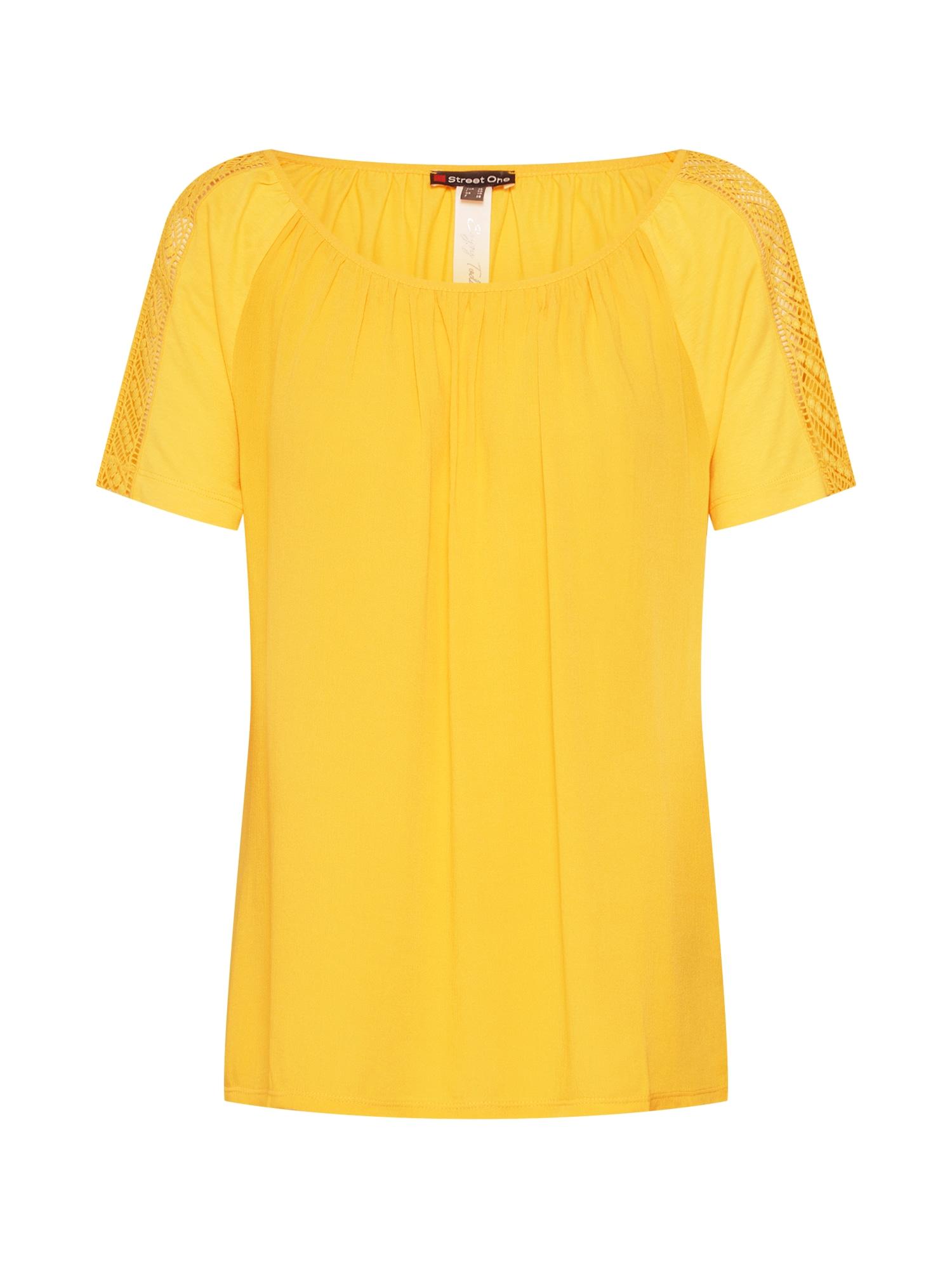Tričko žlutá STREET ONE