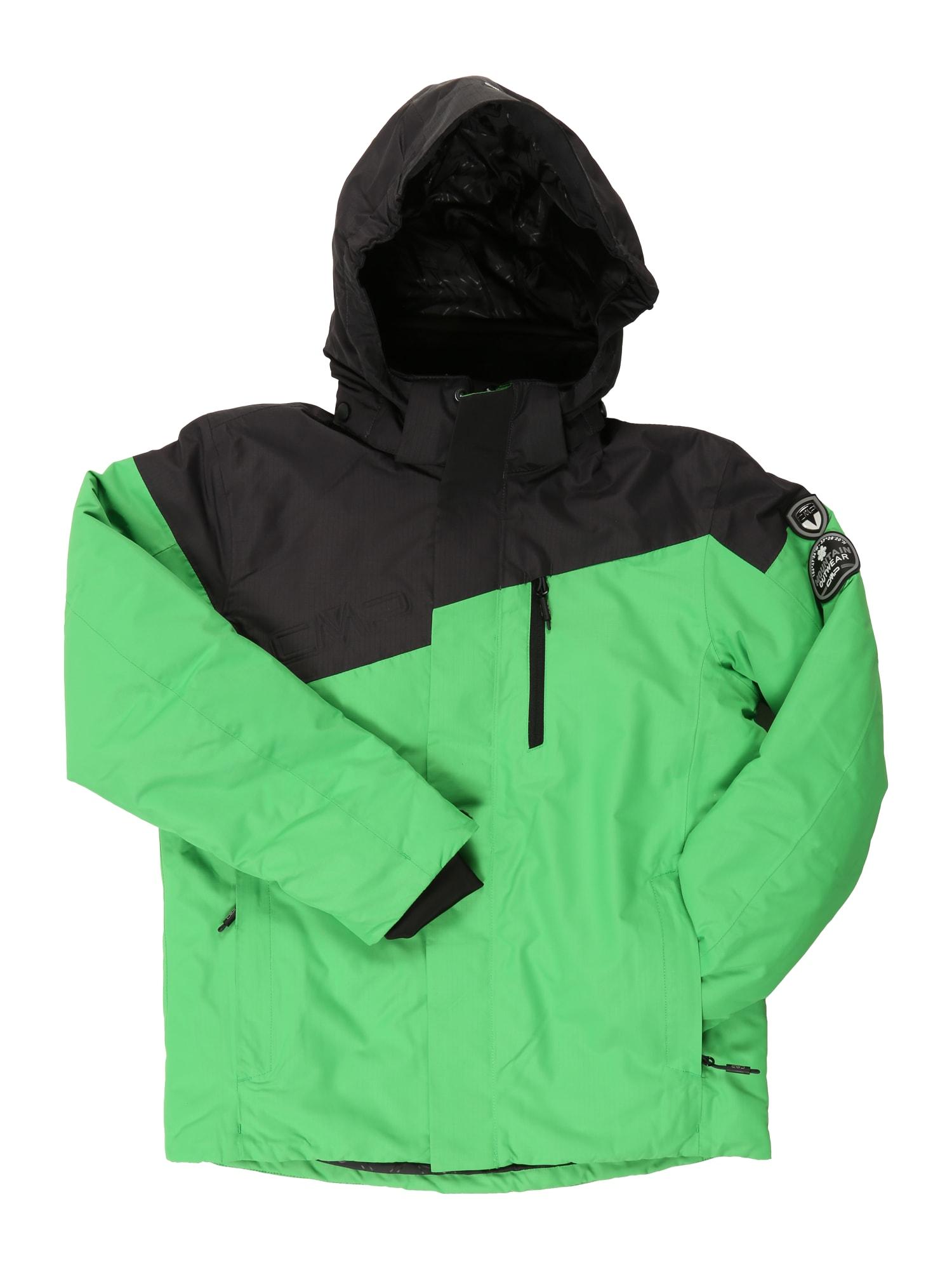 Sportovní bunda zelená CMP