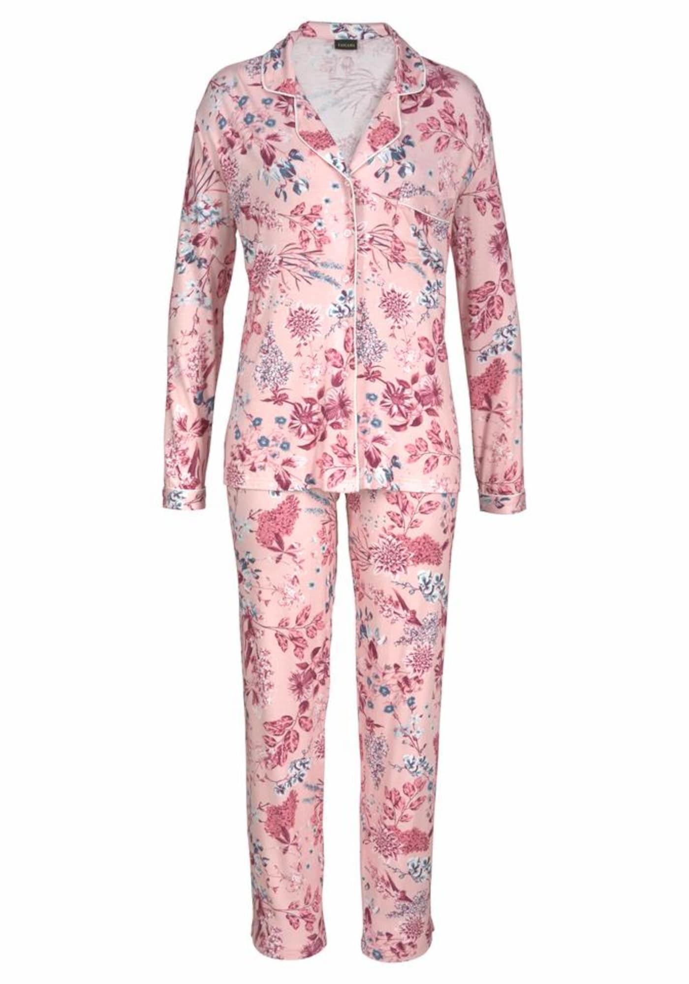 Bodywear Pyjama | Bekleidung > Nachtwäsche > Pyjamas | Rosa | S.Oliver