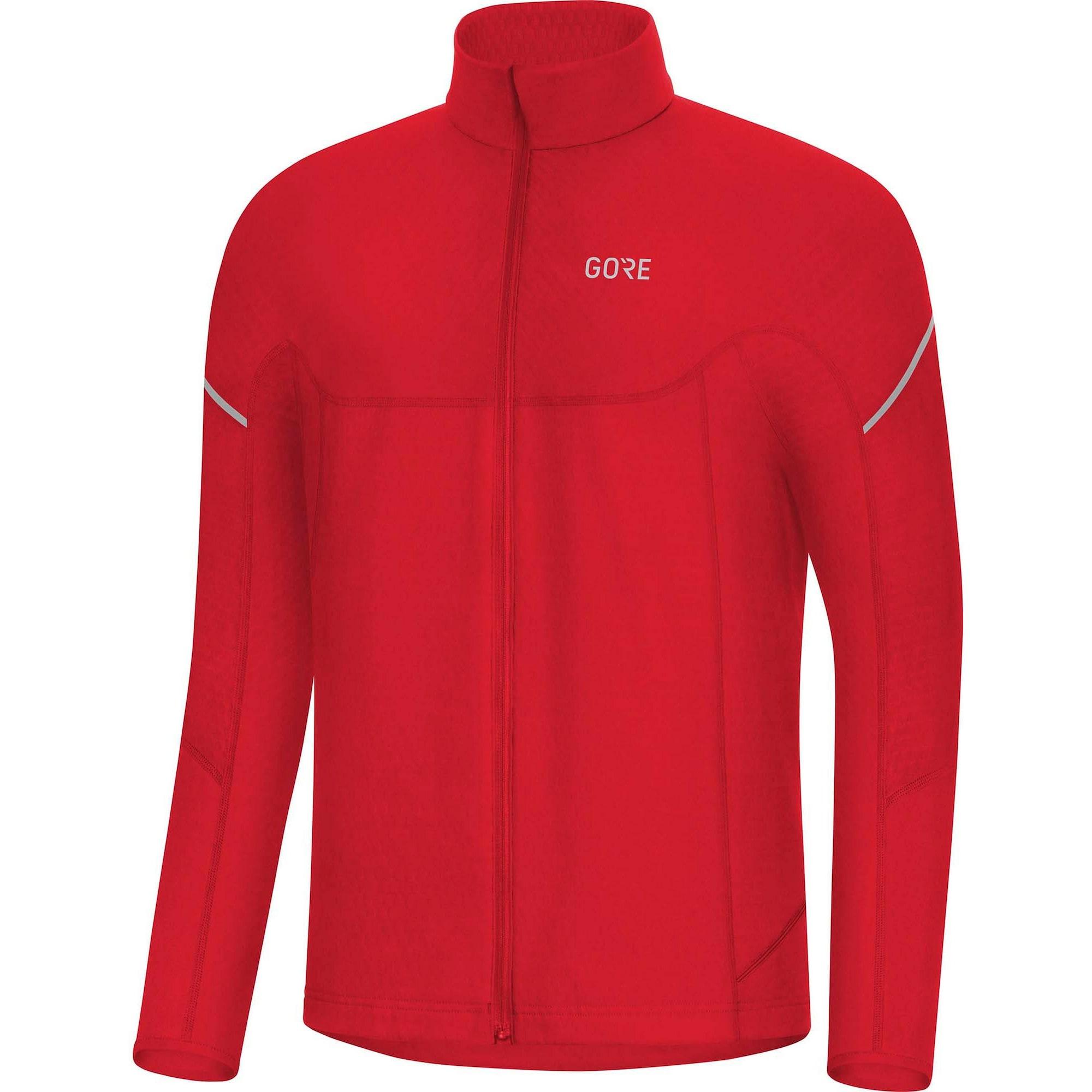 Fahrradtrikot 'M Thermo Zip' | Sportbekleidung > Trikots > Fahrradtrikots | Rot | GORE WEAR