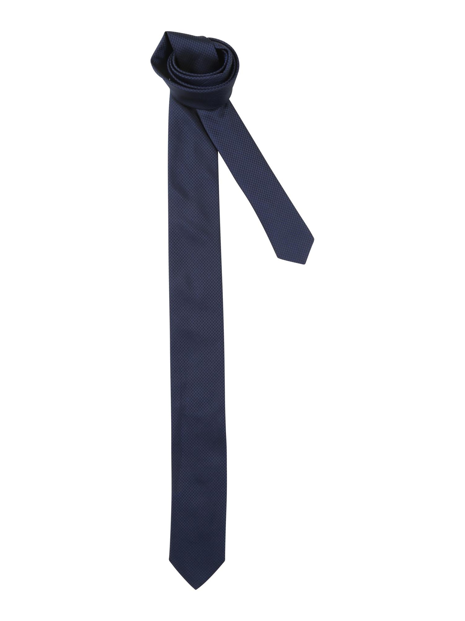 Kravata tmavě modrá HUGO