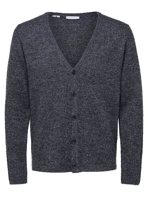 Wollmix-Strick-Cardigan