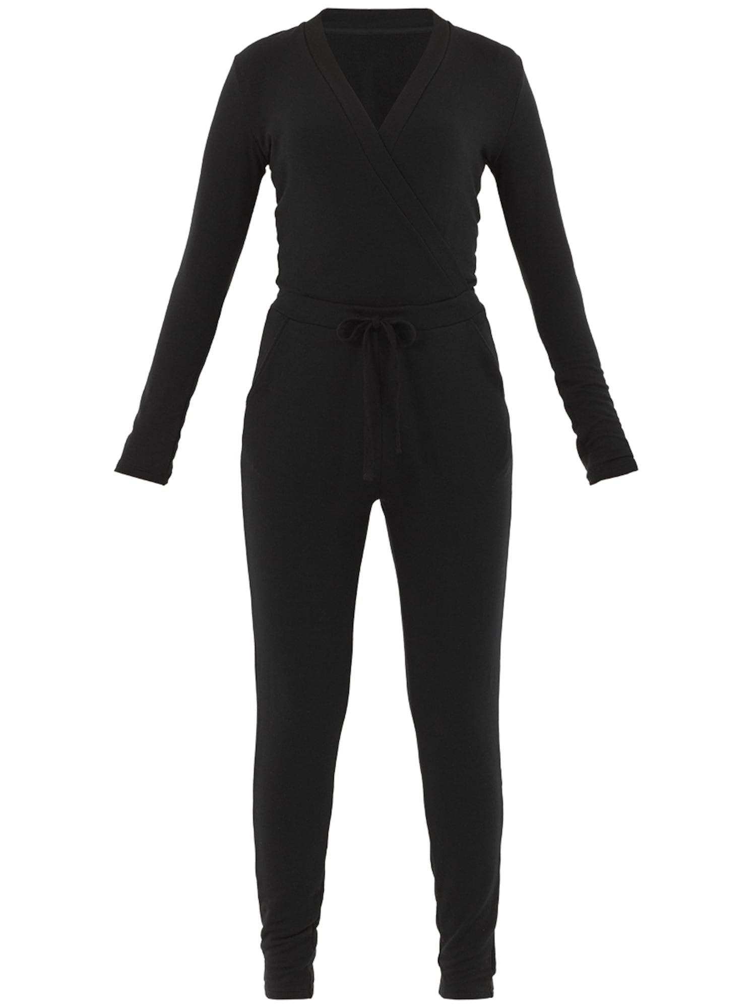 Overal Asian Lounge Jumpsuit černá PALMERS