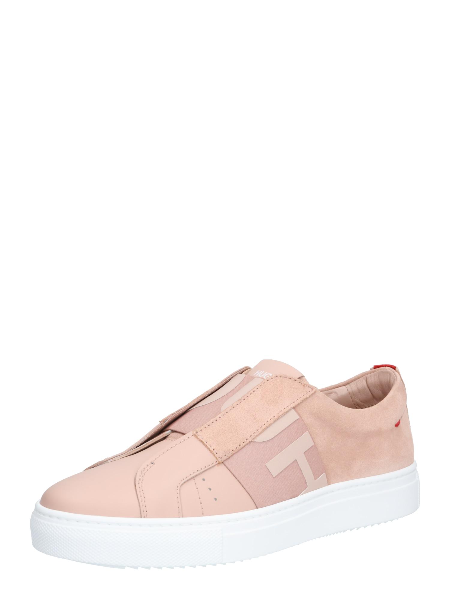 Slip on boty Futurism Low Cut-Mix růžová bílá HUGO