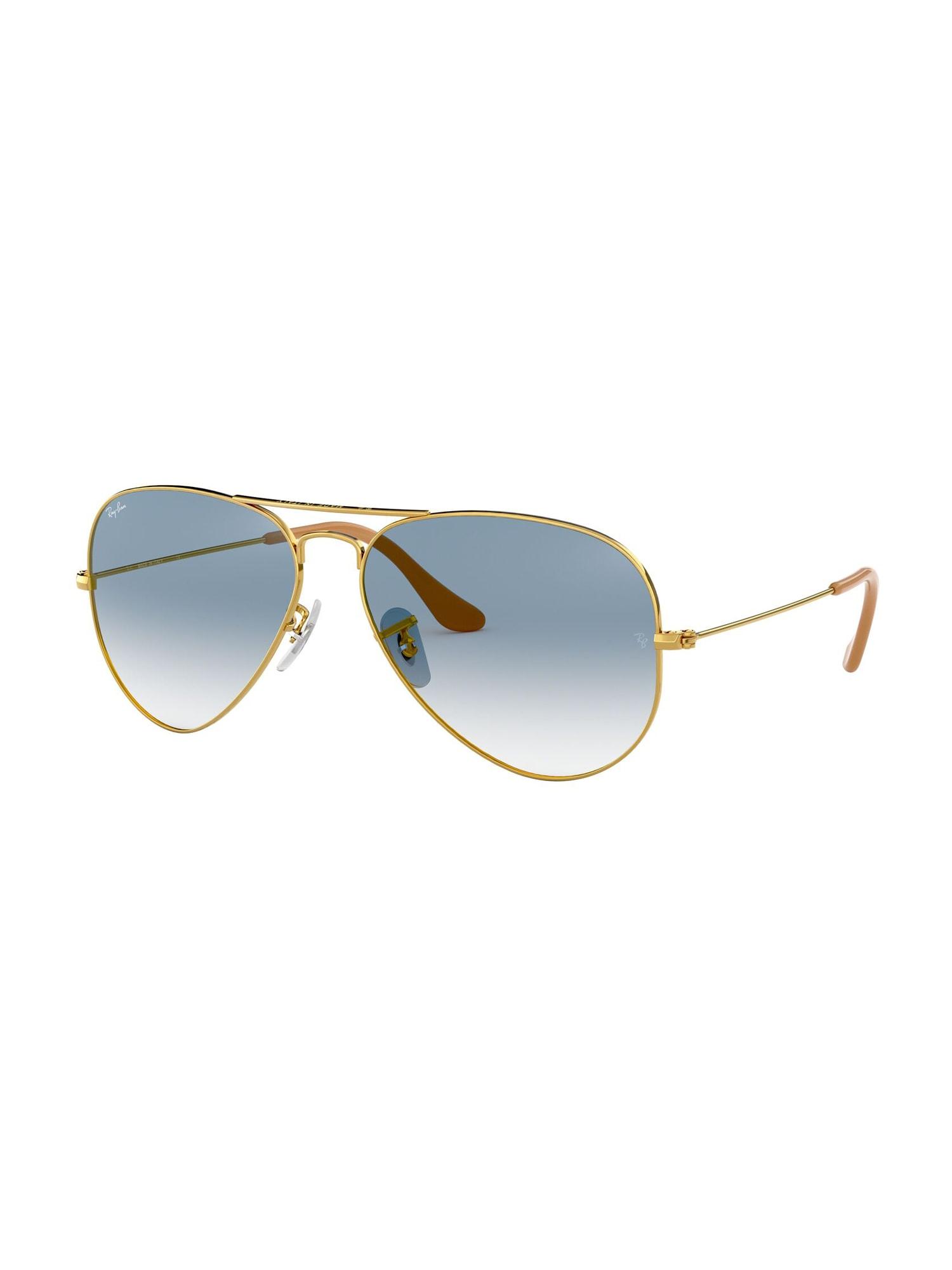 Ray-Ban Sluneční brýle 'Aviator'  zlatá / modrá