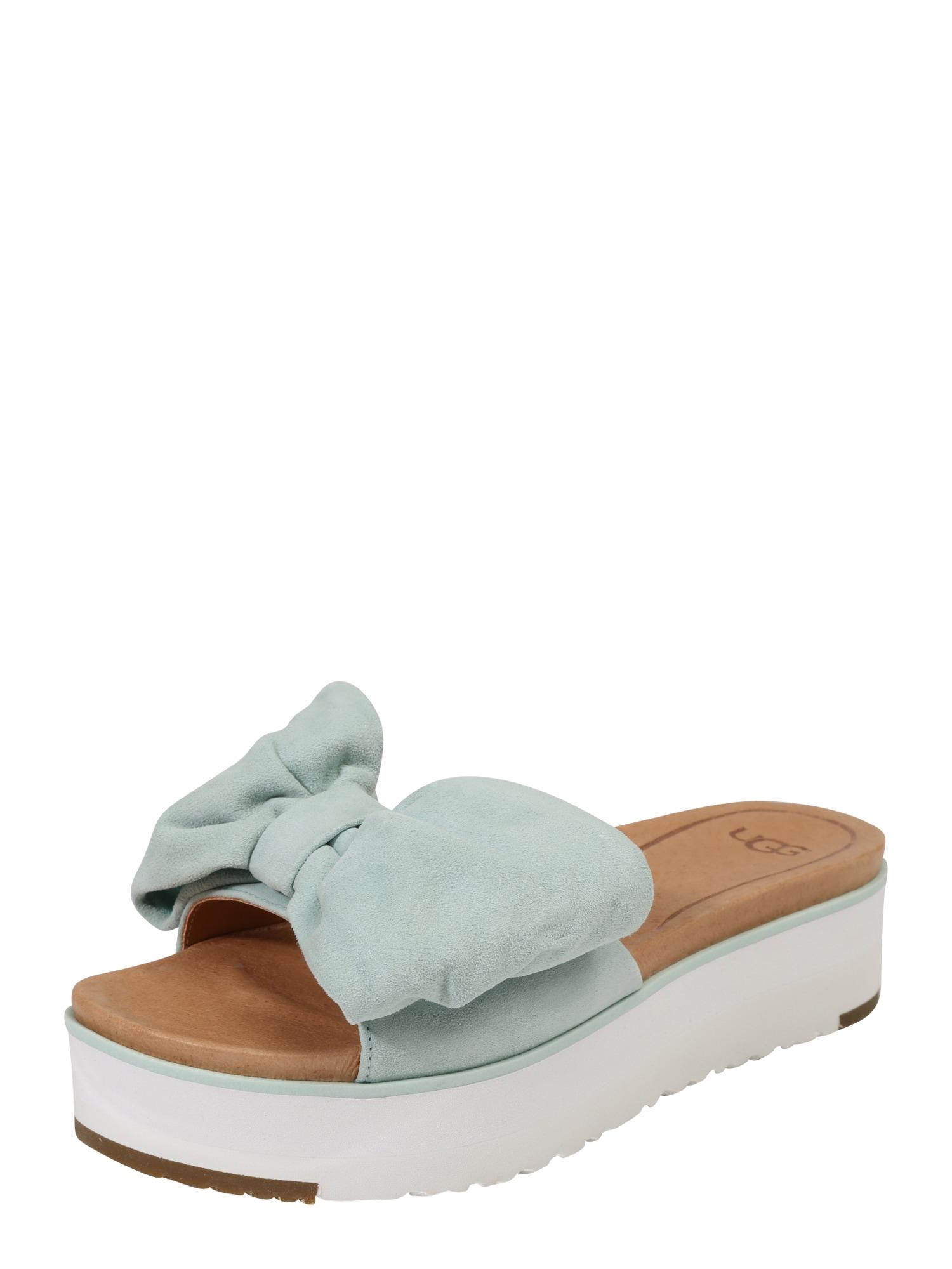 Pantofle Joan aqua modrá UGG