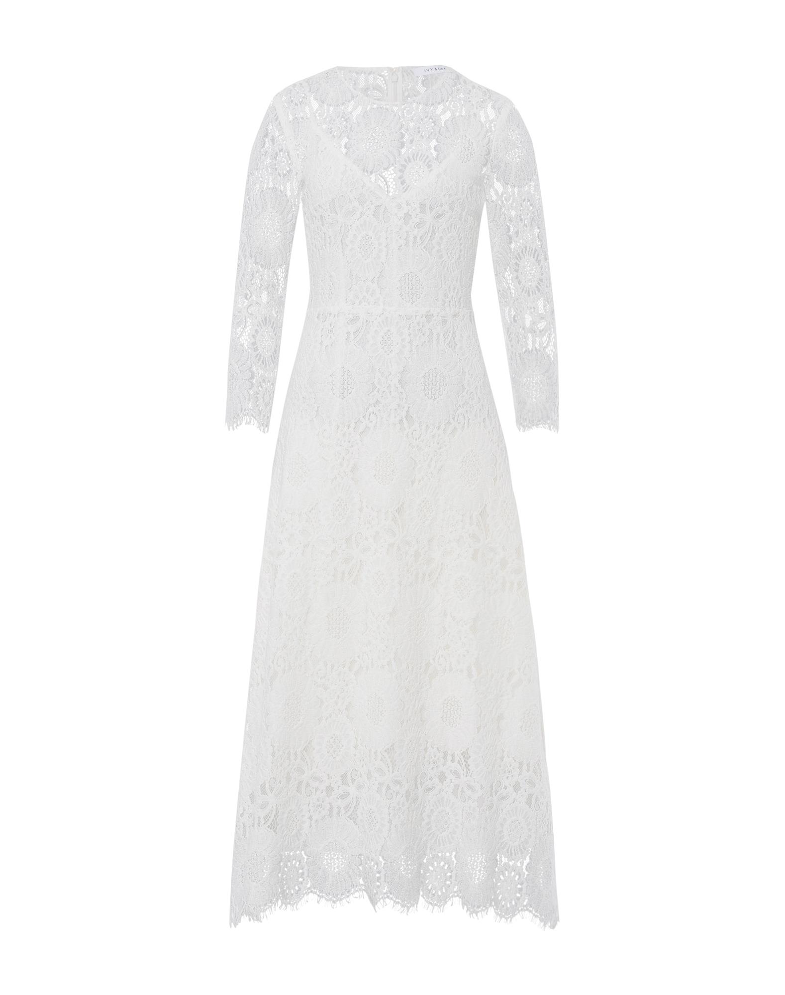 Kleid Ankle Length Lace Dress