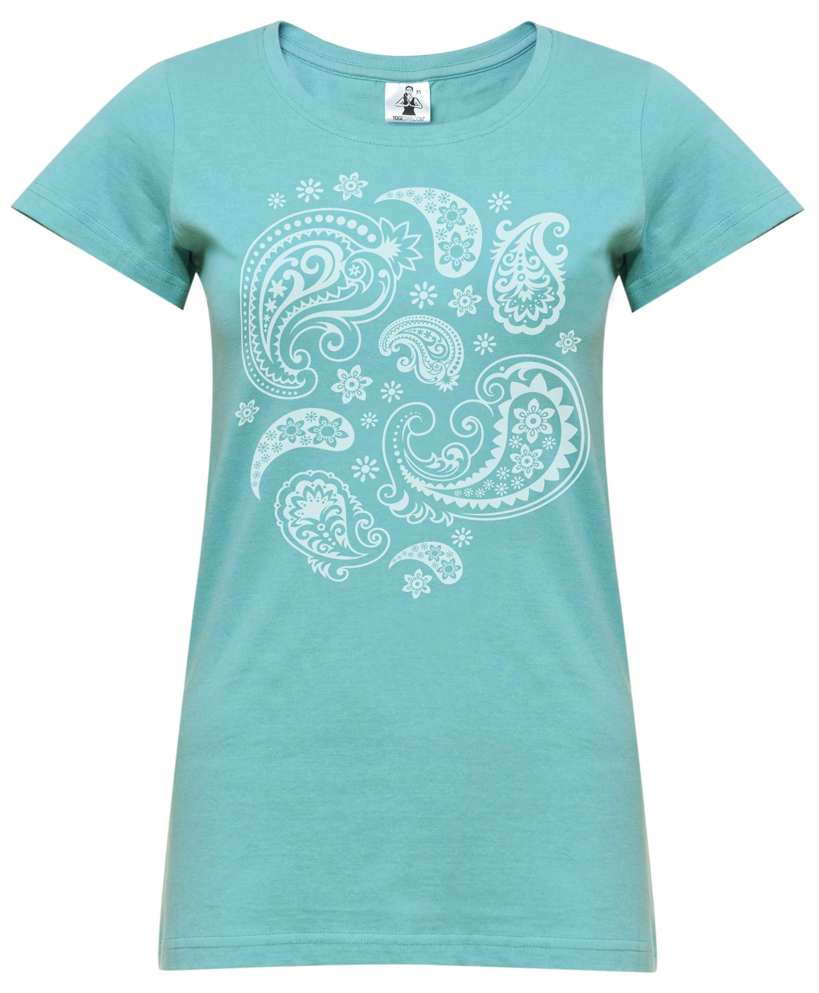 Yoga-t-shirt 'Paisley' | Sportbekleidung > Sportshirts > Yogashirts | YOGISTAR.COM