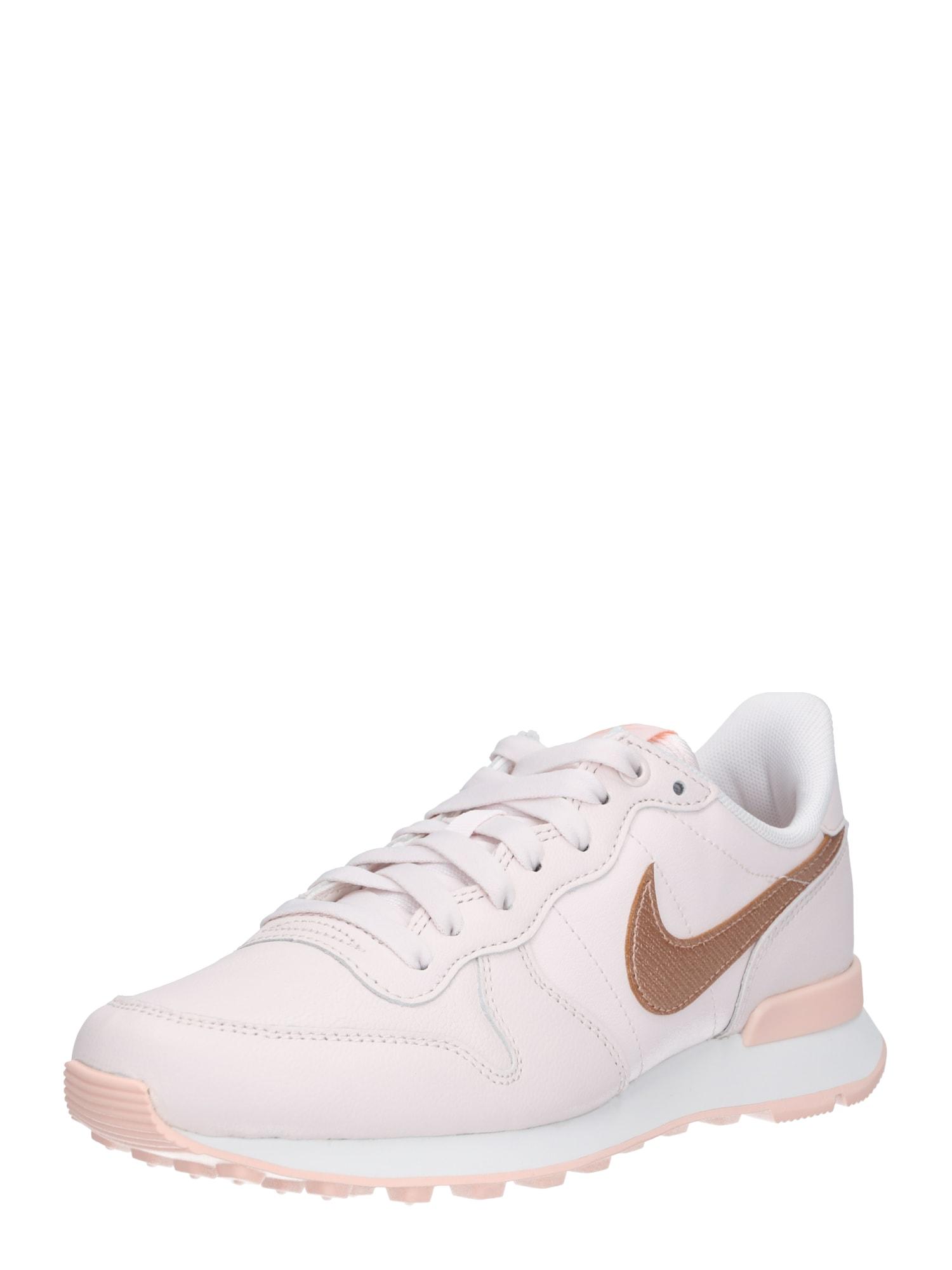 Tenisky Internationalist Premium béžová tělová růžová Nike Sportswear