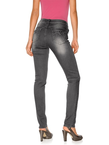#Rick #Cardona #By #Heine #Damen #Jeans #grau