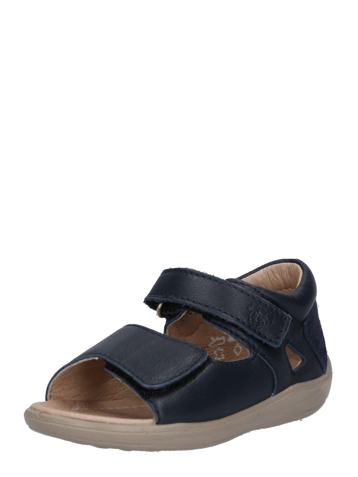 Sandály Taya noční modrá Pepino