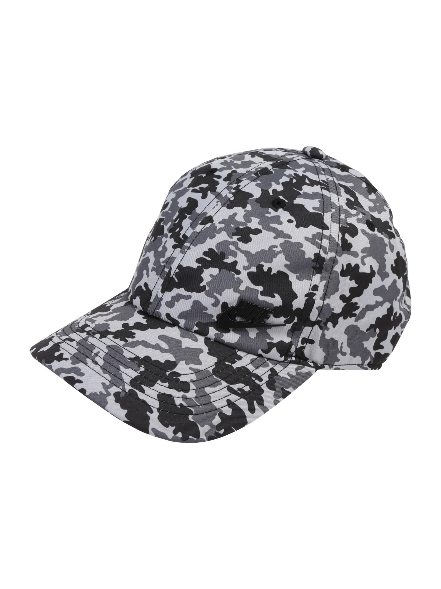 Kšiltovka U NSW AROBILL H86 CAP CAMO černá Nike Sportswear
