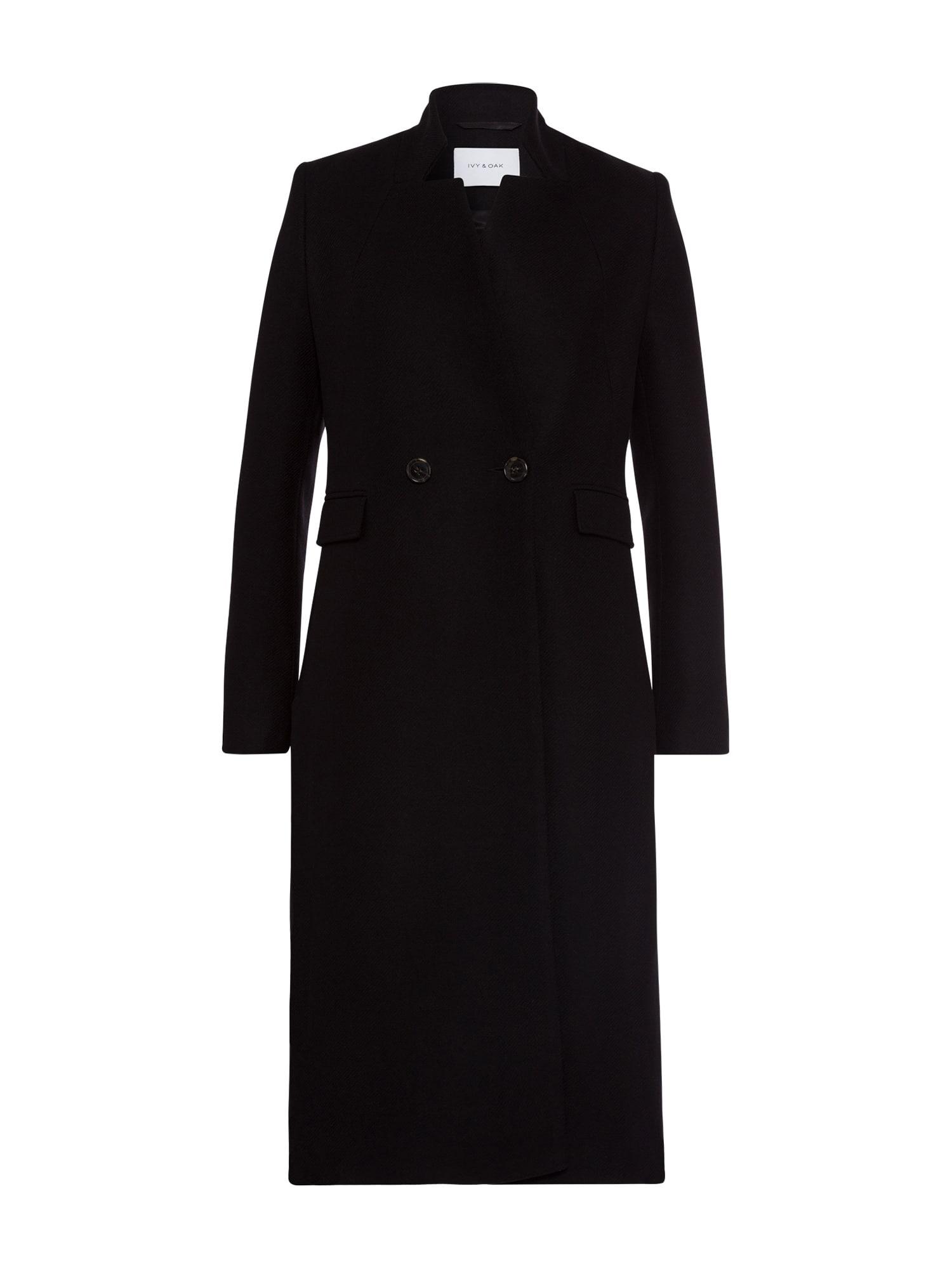 IVY & OAK Přechodný kabát 'Blazer Coat'  černá