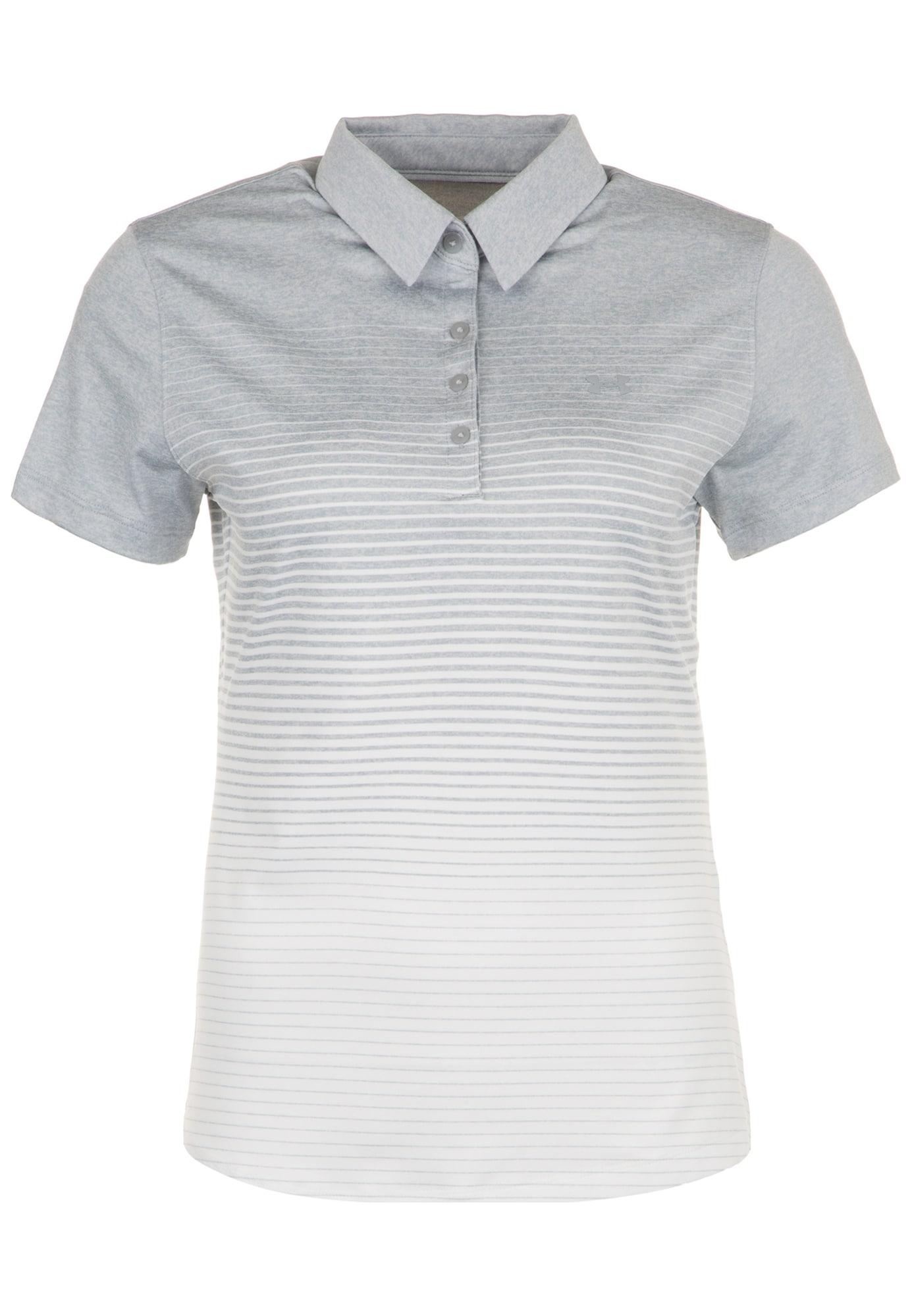 Poloshirt 'Zinger Novelty' | Bekleidung > Shirts > Poloshirts | Grau - Hellgrau | Under Armour