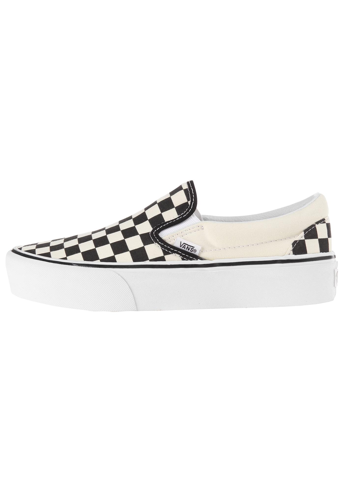 Slip on boty Classic černá přírodní bílá VANS