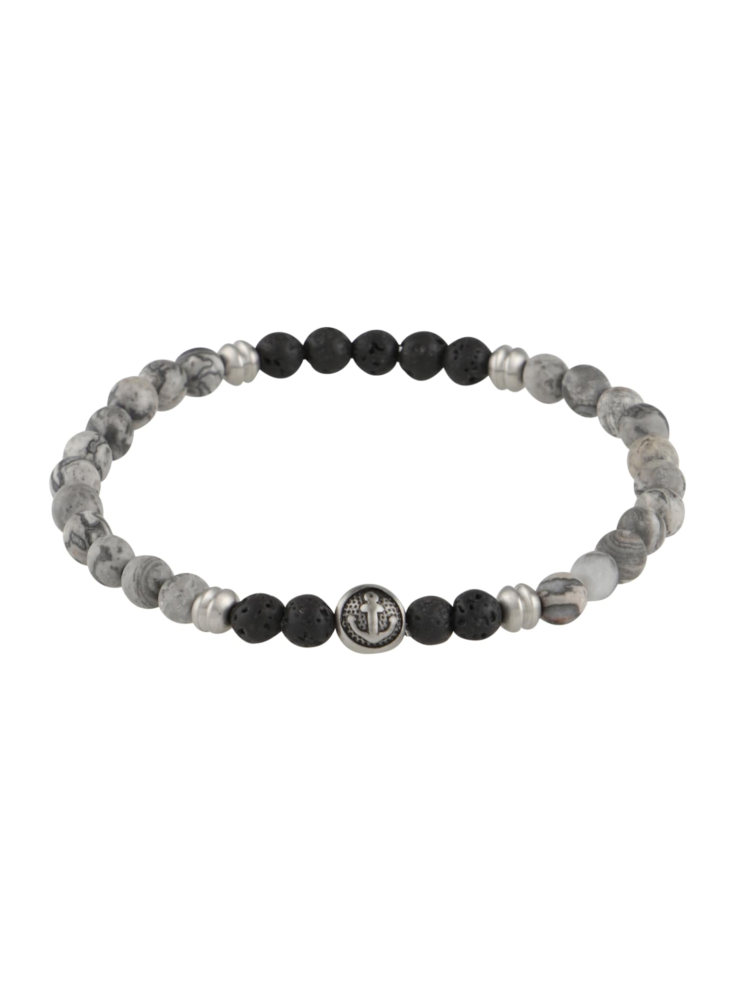 Náramek Bracelet šedá černá ROYAL-EGO