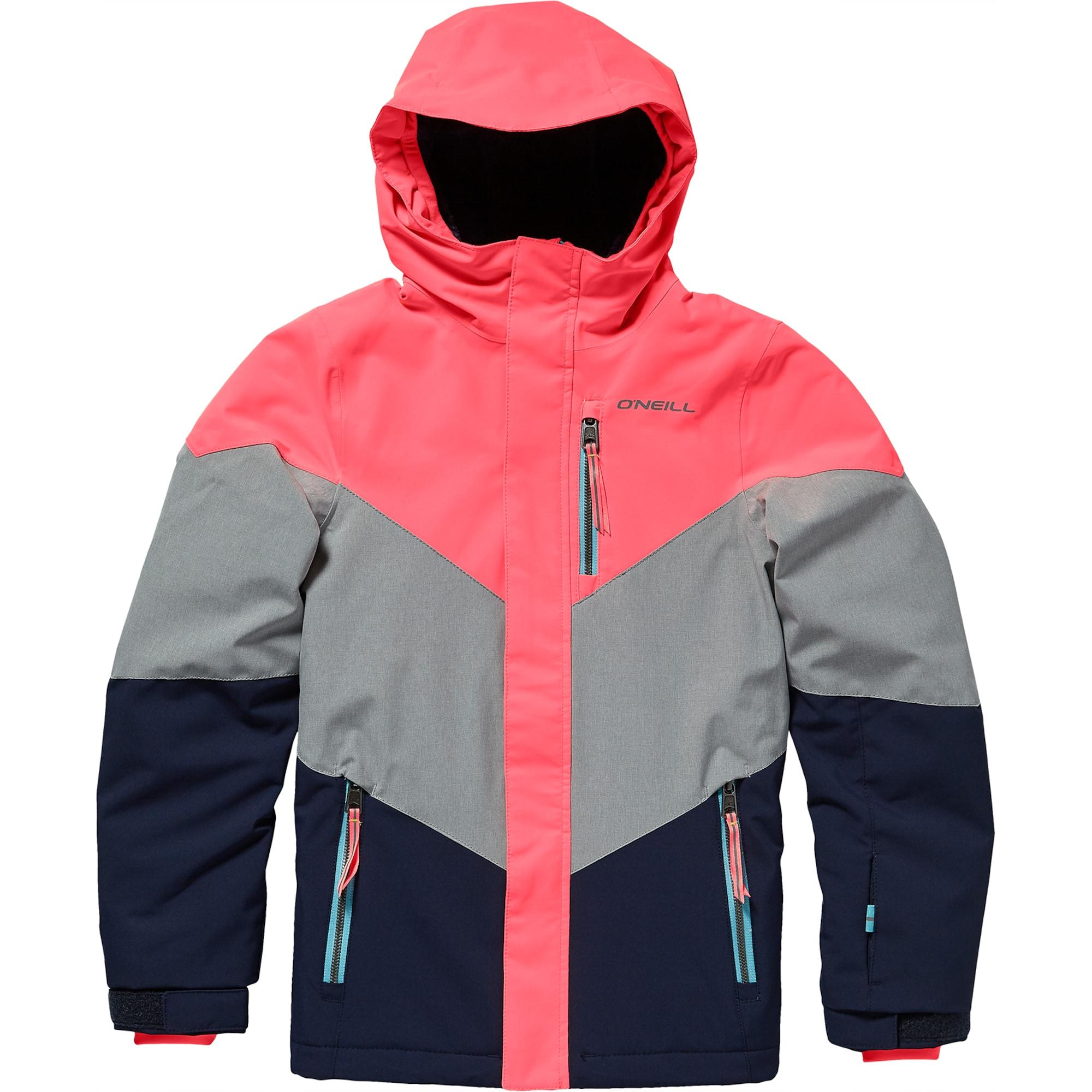 ONEILL Zimní bunda PG CORAL JACKET modrá šedá pink O'NEILL