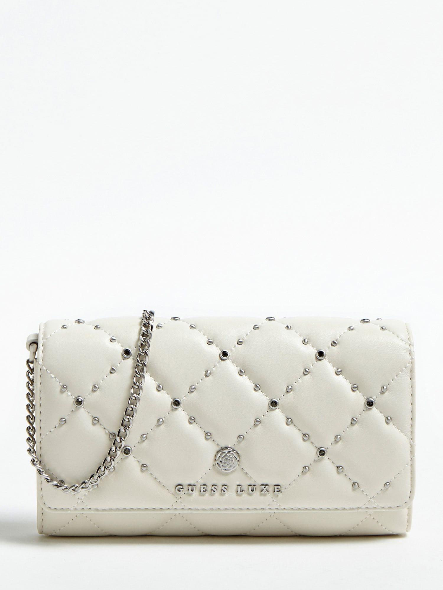 Brieftasche | Accessoires > Portemonnaies > Brieftaschen | Creme | Guess