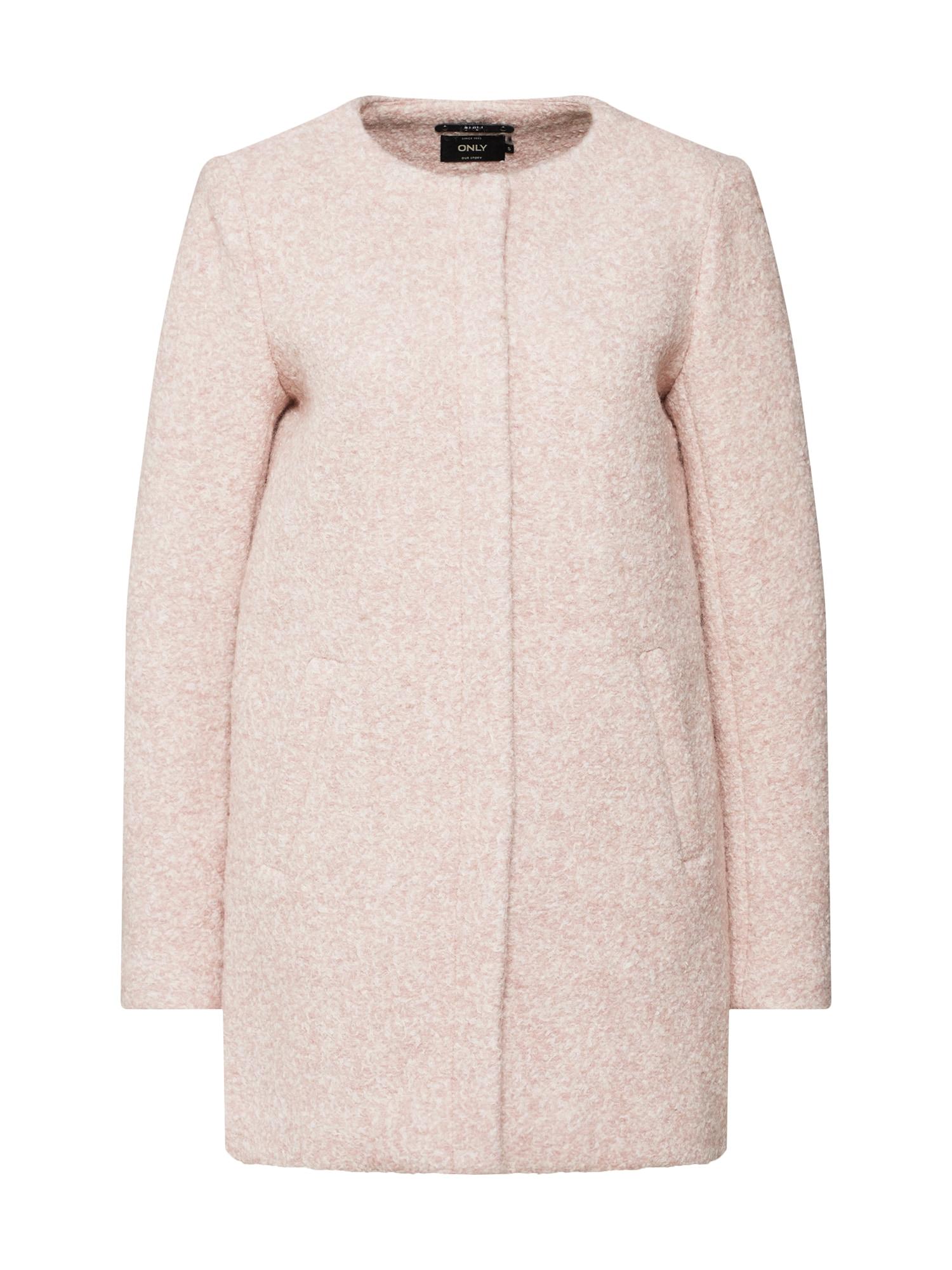 Zimní kabát béžová krémová ONLY