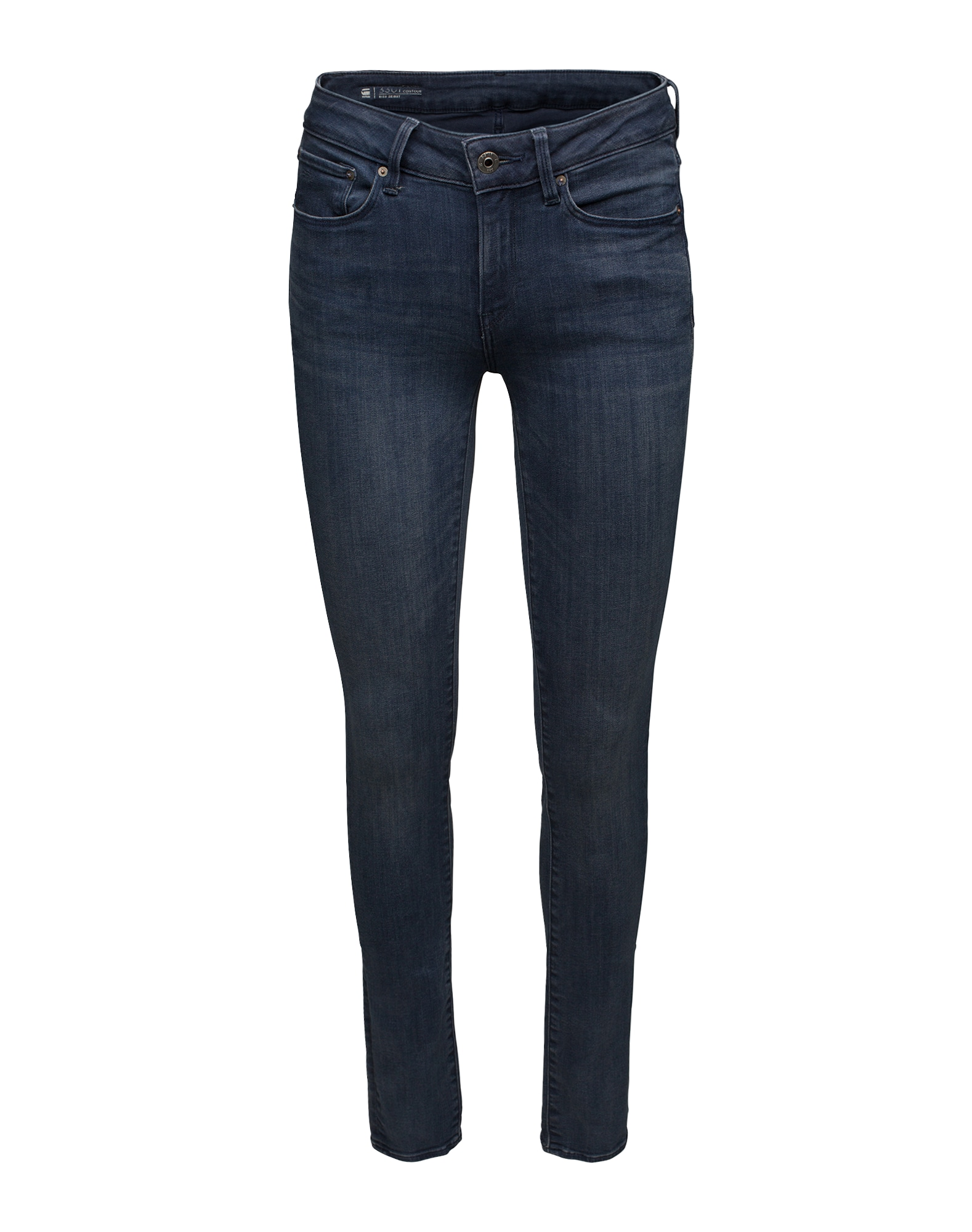 G-STAR RAW Dames Jeans 3301 donkerblauw