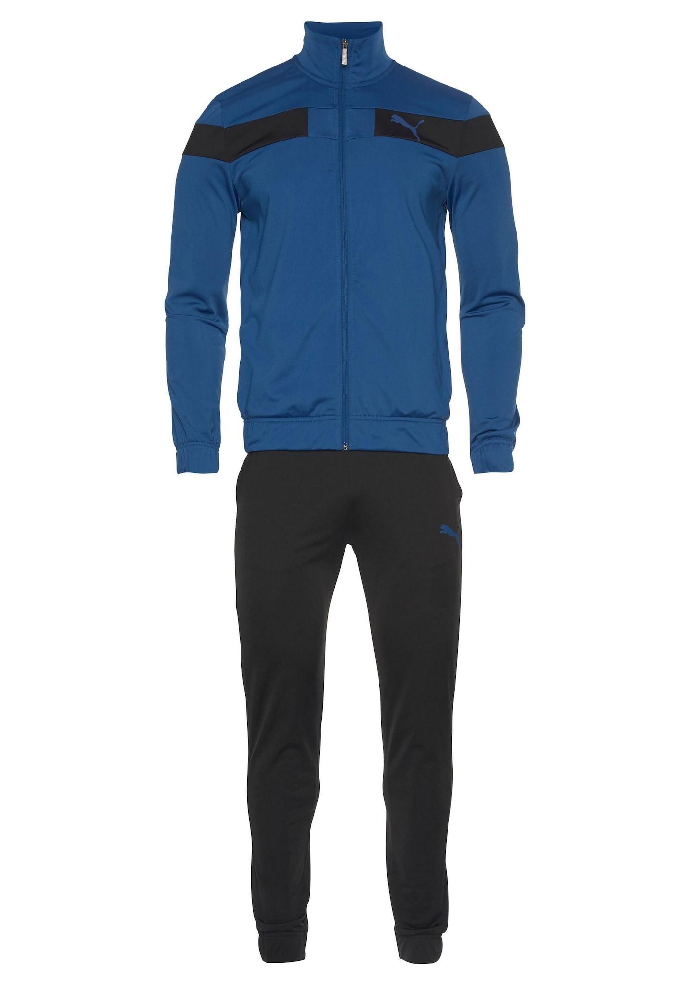 Trainingsanzug | Sportbekleidung > Sportanzüge > Trainingsanzüge | Blau - Schwarz | Puma