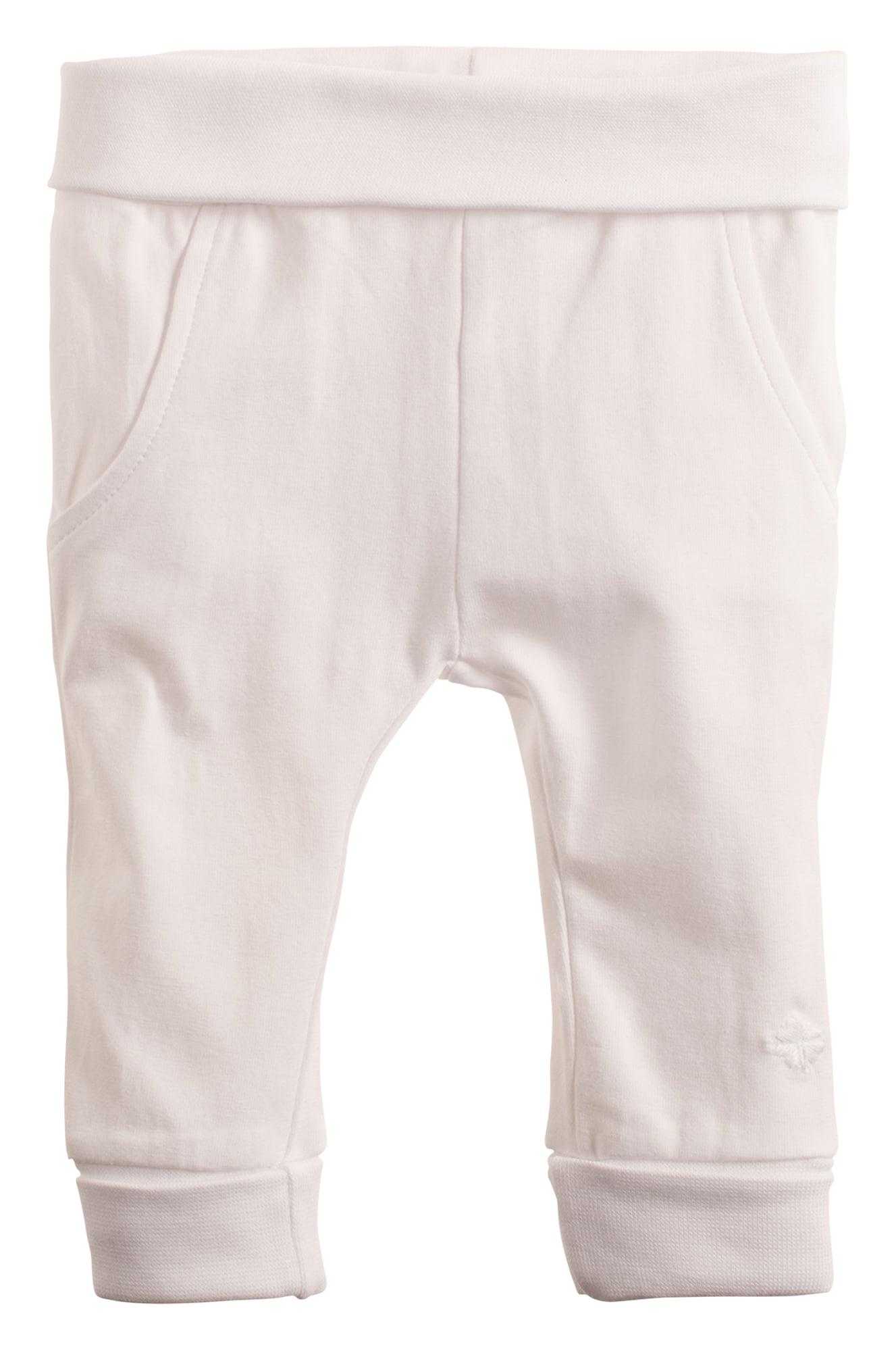 Noppies Kalhoty  bílá