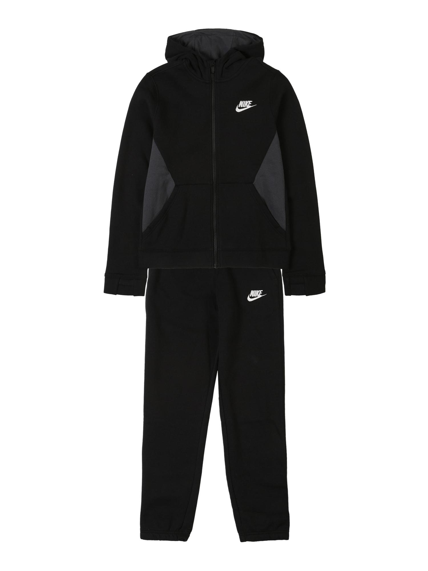 Nike Sportswear Joggingová súprava 'Nike Sportswear'  čierna