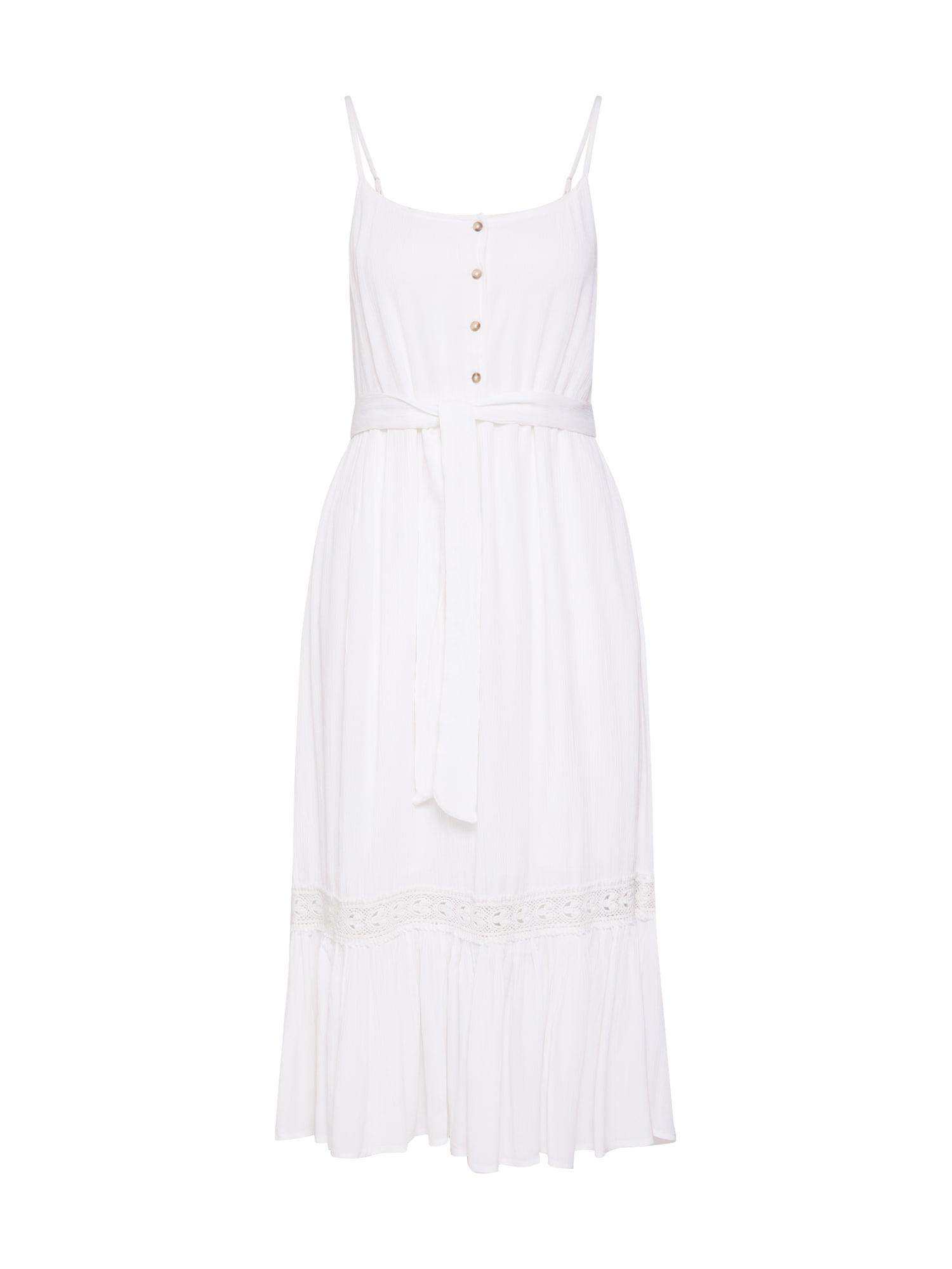 Letní šaty DonnaRomaina x Midi Dress bílá NA-KD