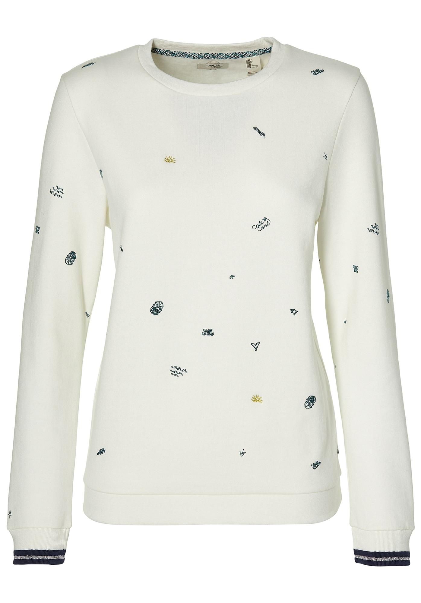 O'Neill Mini Print Sweatshirt Wit Truien & Vesten
