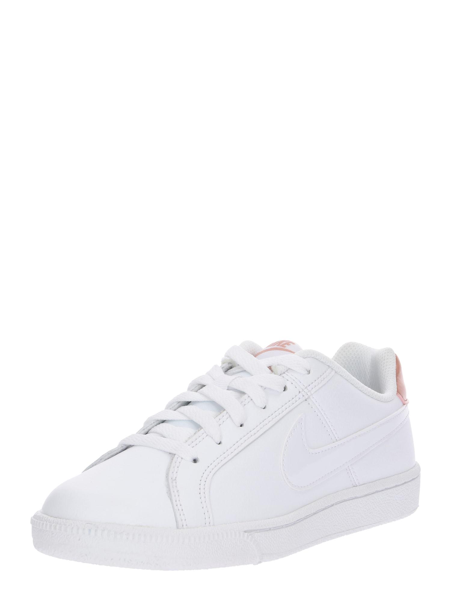 Nike Sportswear, Dames Sneakers laag 'Court Royale', rosé / wit