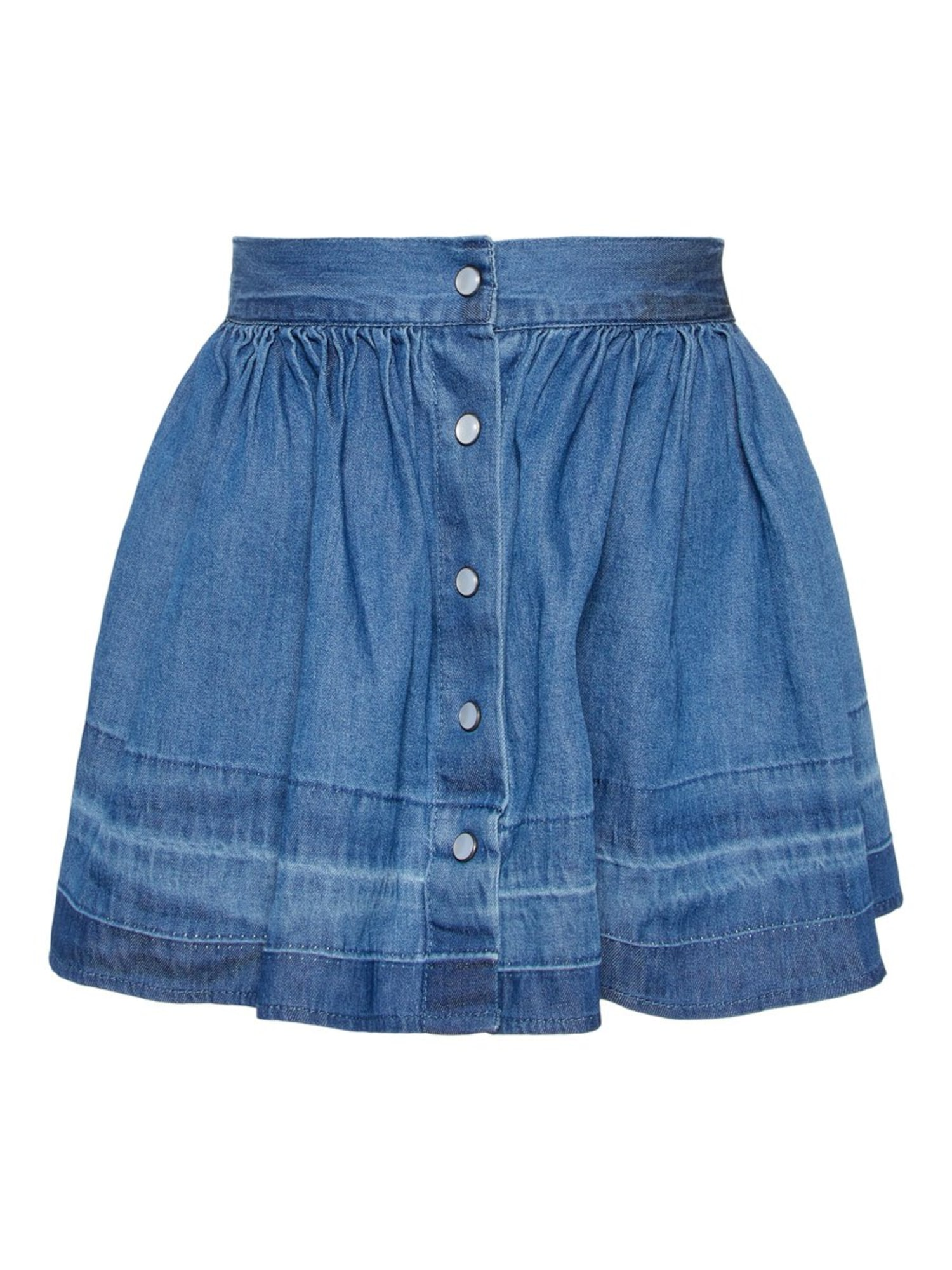 Name it Meisjes Rok 'NMFBRIELLE DNM 2170' blauw denim