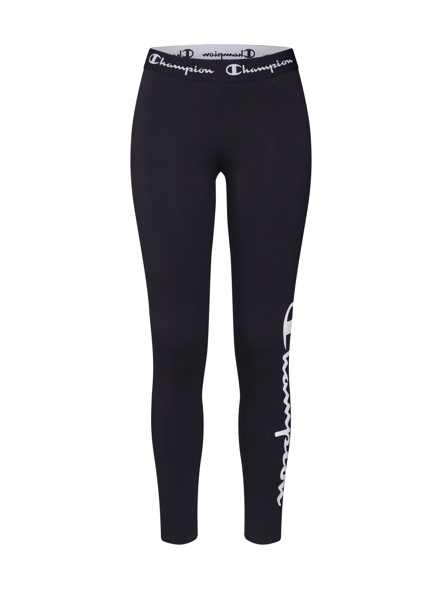 Champion Authentic Athletic Apparel Športové nohavice  biela / čierna