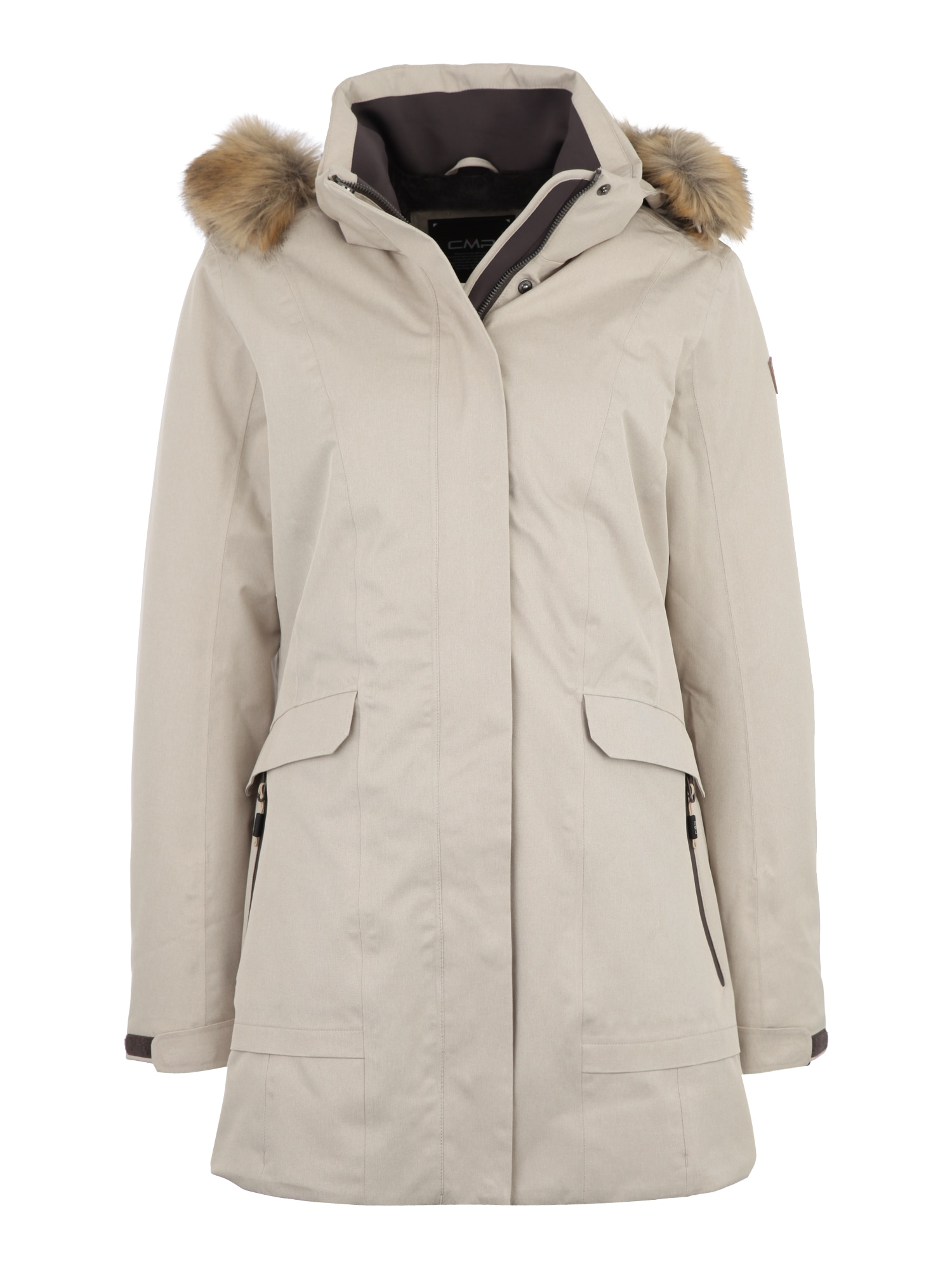 Outdoorový kabát champagne CMP